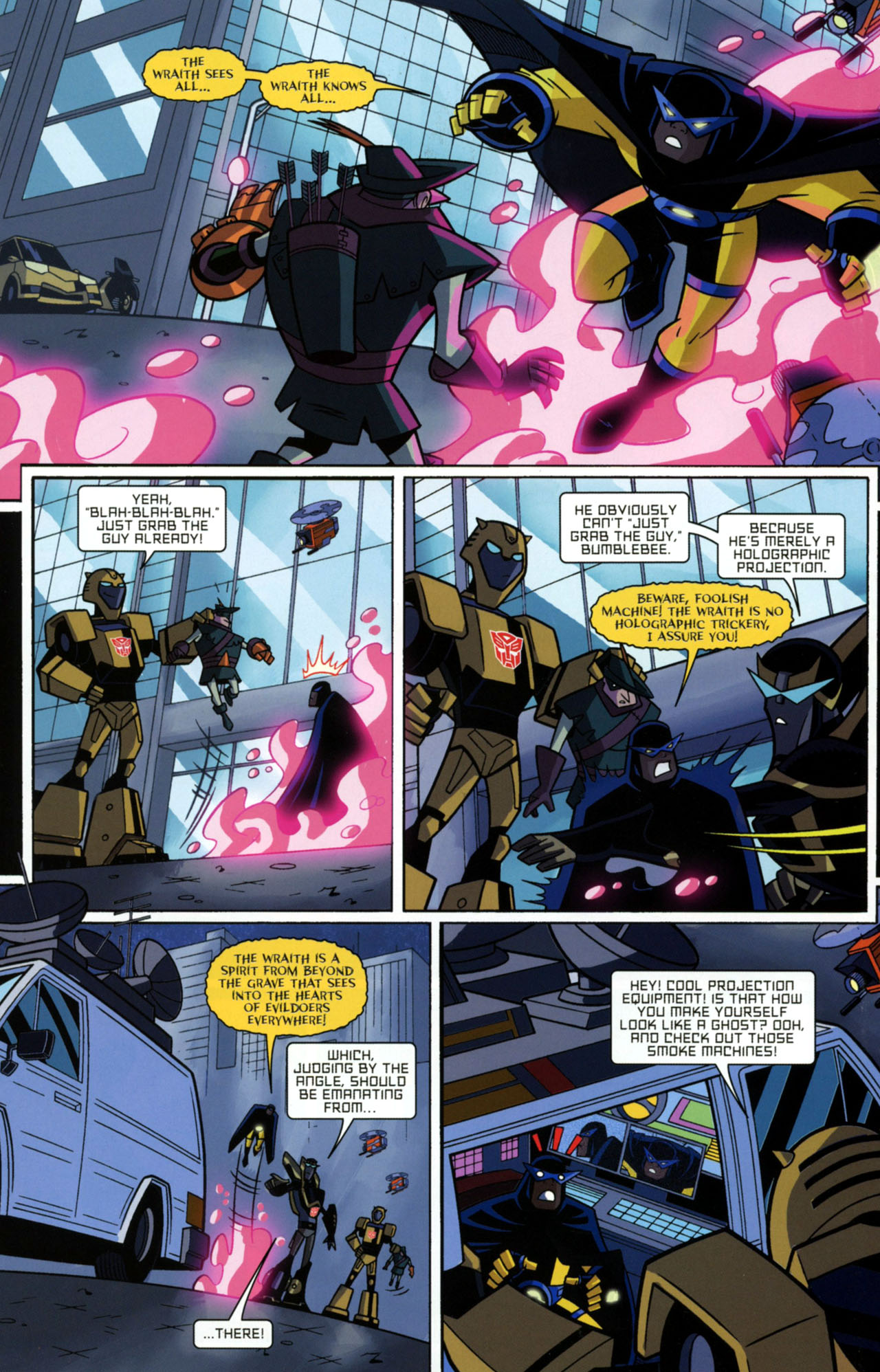 Read online Transformers Animated: The Arrival comic -  Issue #2 - 7