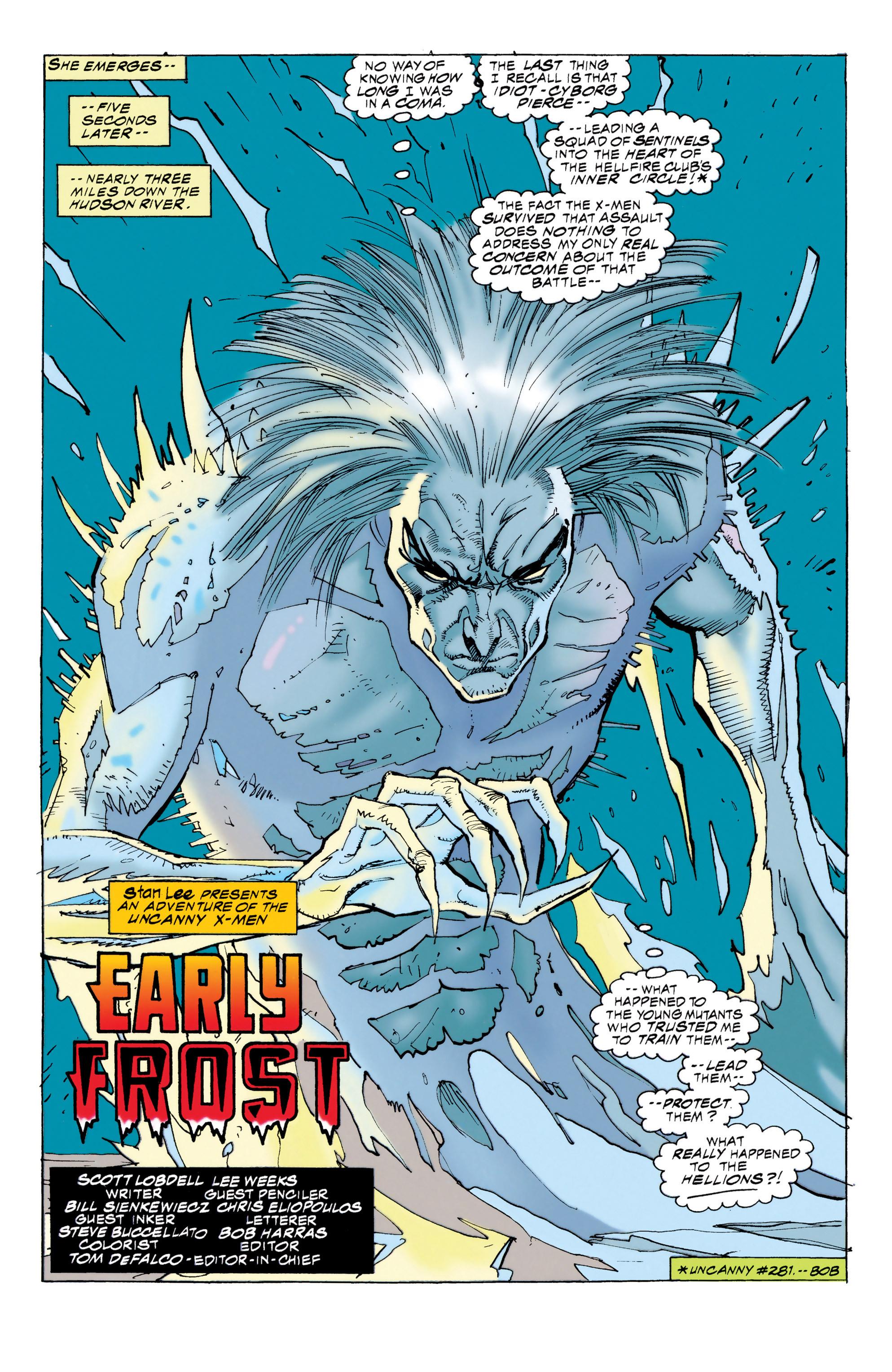 Read online Uncanny X-Men (1963) comic -  Issue #314 - 5