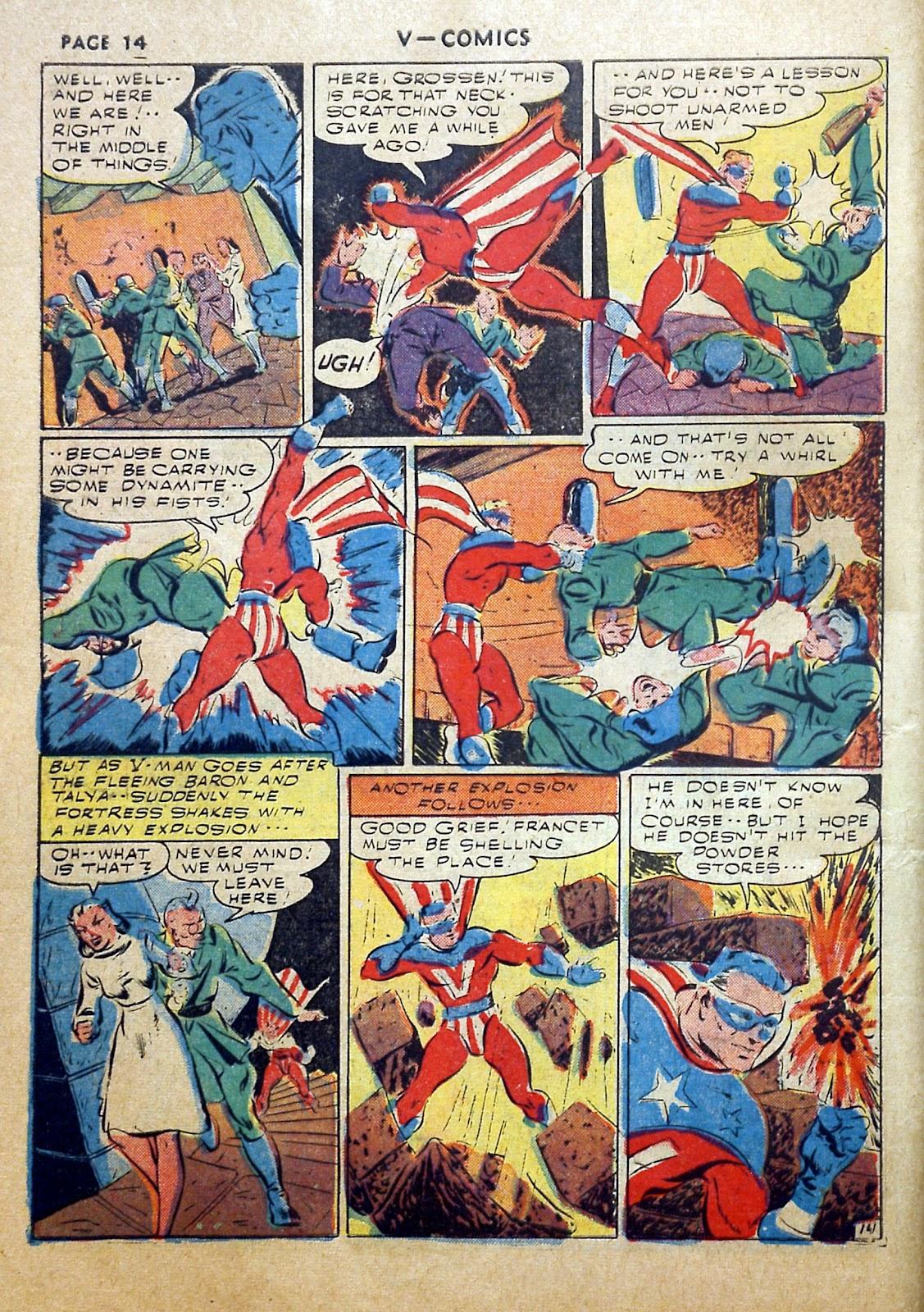Read online V...- Comics comic -  Issue #2 - 15