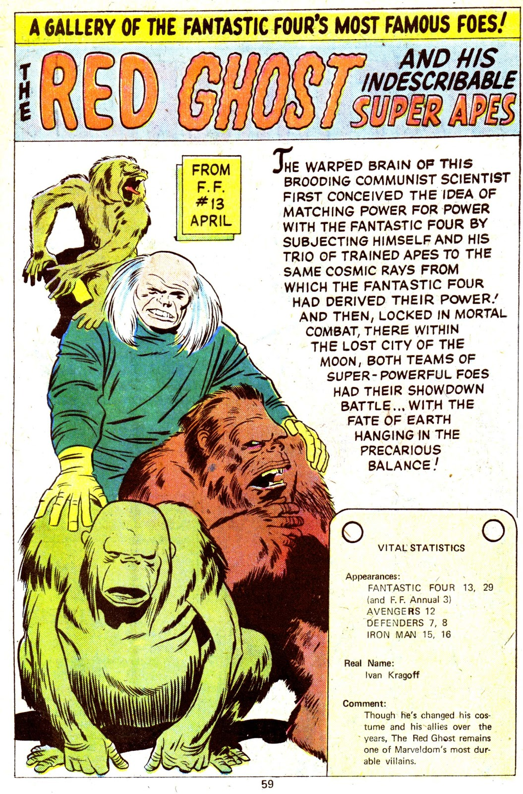 Giant-Size Fantastic Four issue 4 - Page 61
