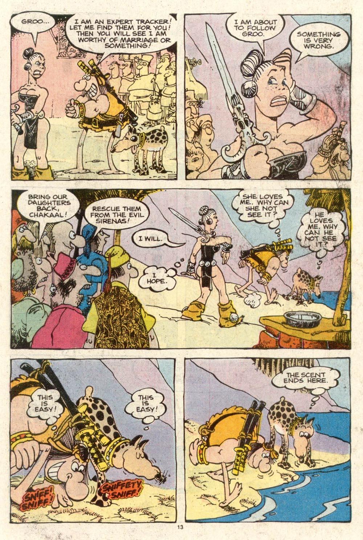 Read online Sergio Aragonés Groo the Wanderer comic -  Issue #50 - 13