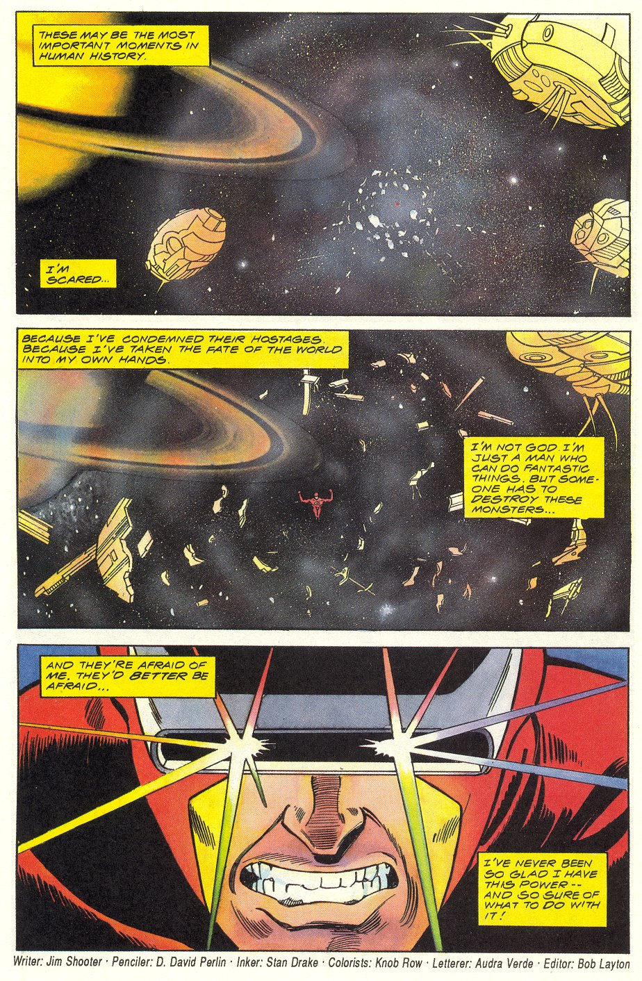 Read online Solar, Man of the Atom comic -  Issue #6 - 34