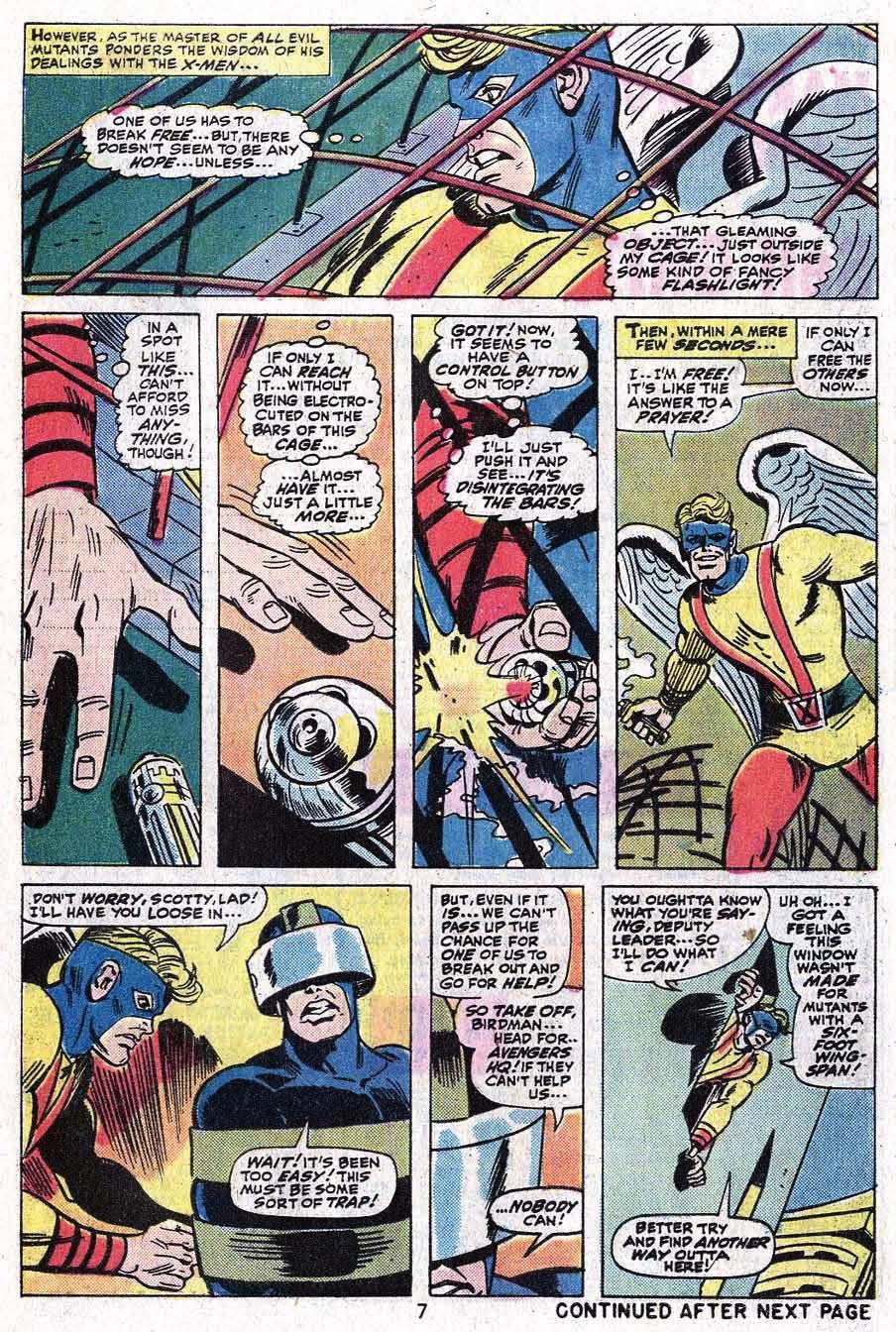 Read online Uncanny X-Men (1963) comic -  Issue #92 - 9