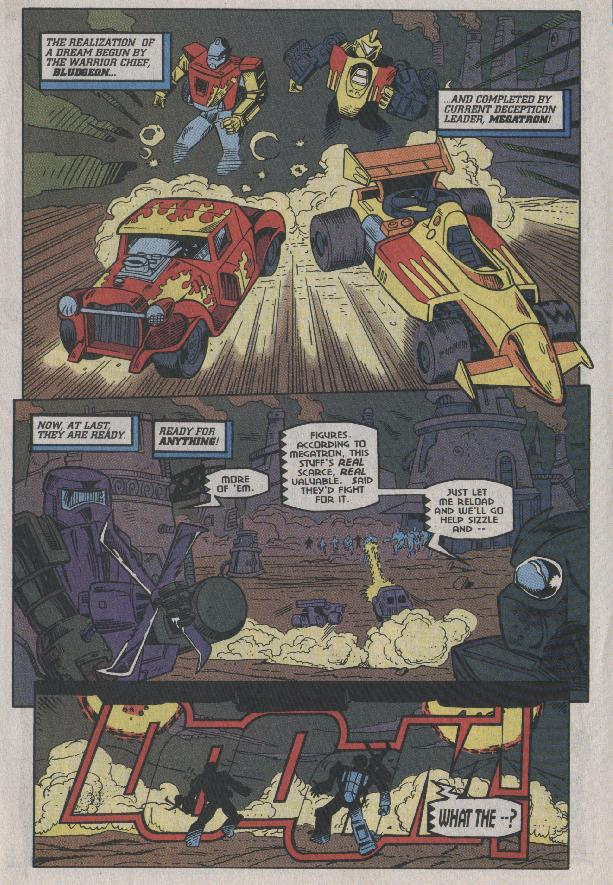 Read online Transformers: Generation 2 comic -  Issue #7 - 4