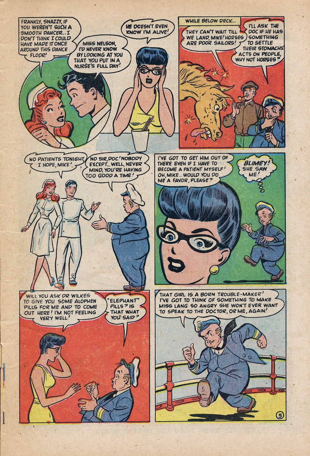 Nellie The Nurse (1945) issue 27 - Page 7
