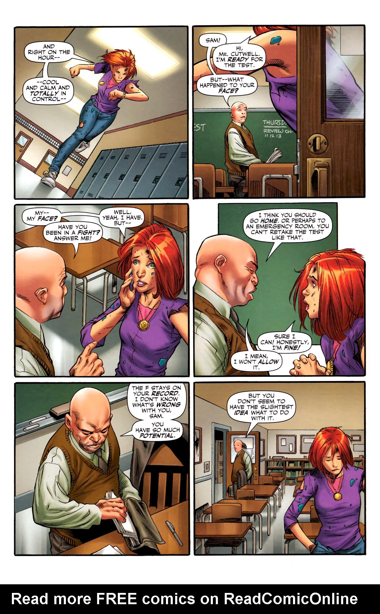 Read online Sigil (2011) comic -  Issue #4 - 19