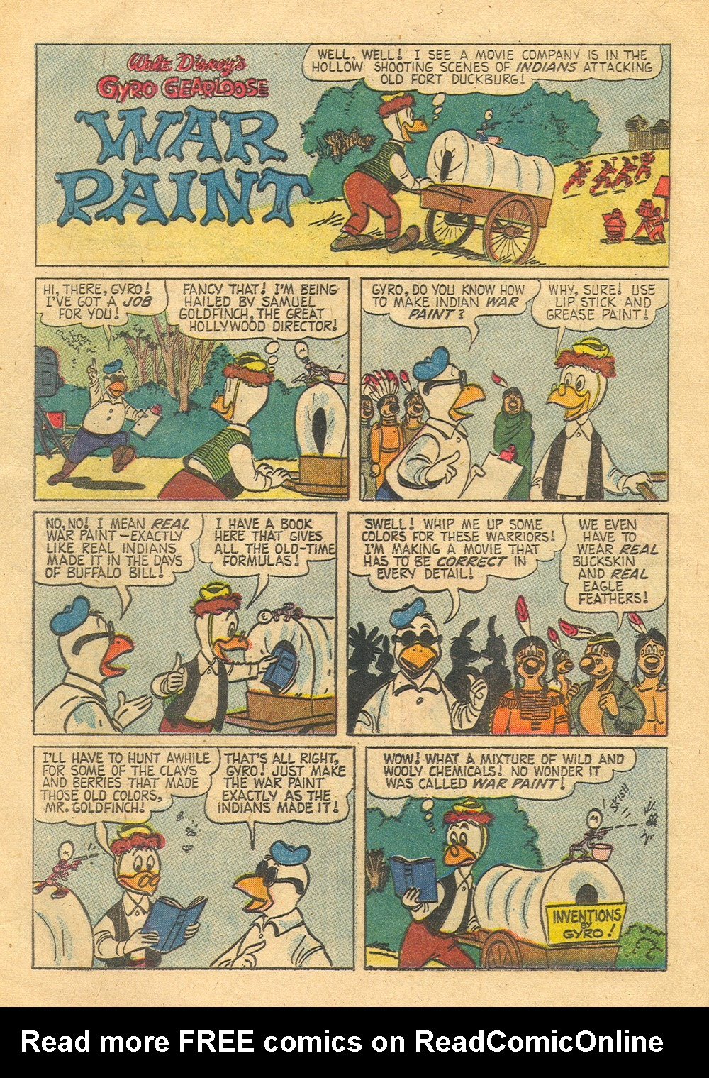 Read online Uncle Scrooge (1953) comic -  Issue #30 - 20