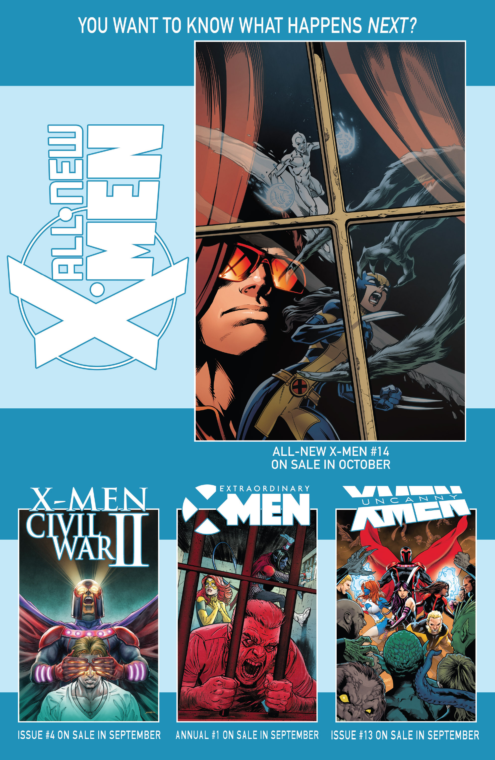 Read online All-New X-Men (2016) comic -  Issue #13 - 23