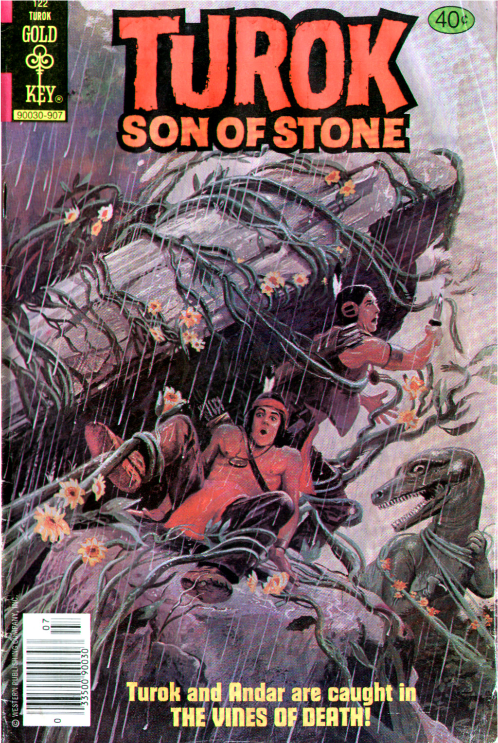 Read online Turok, Son of Stone comic -  Issue #122 - 1