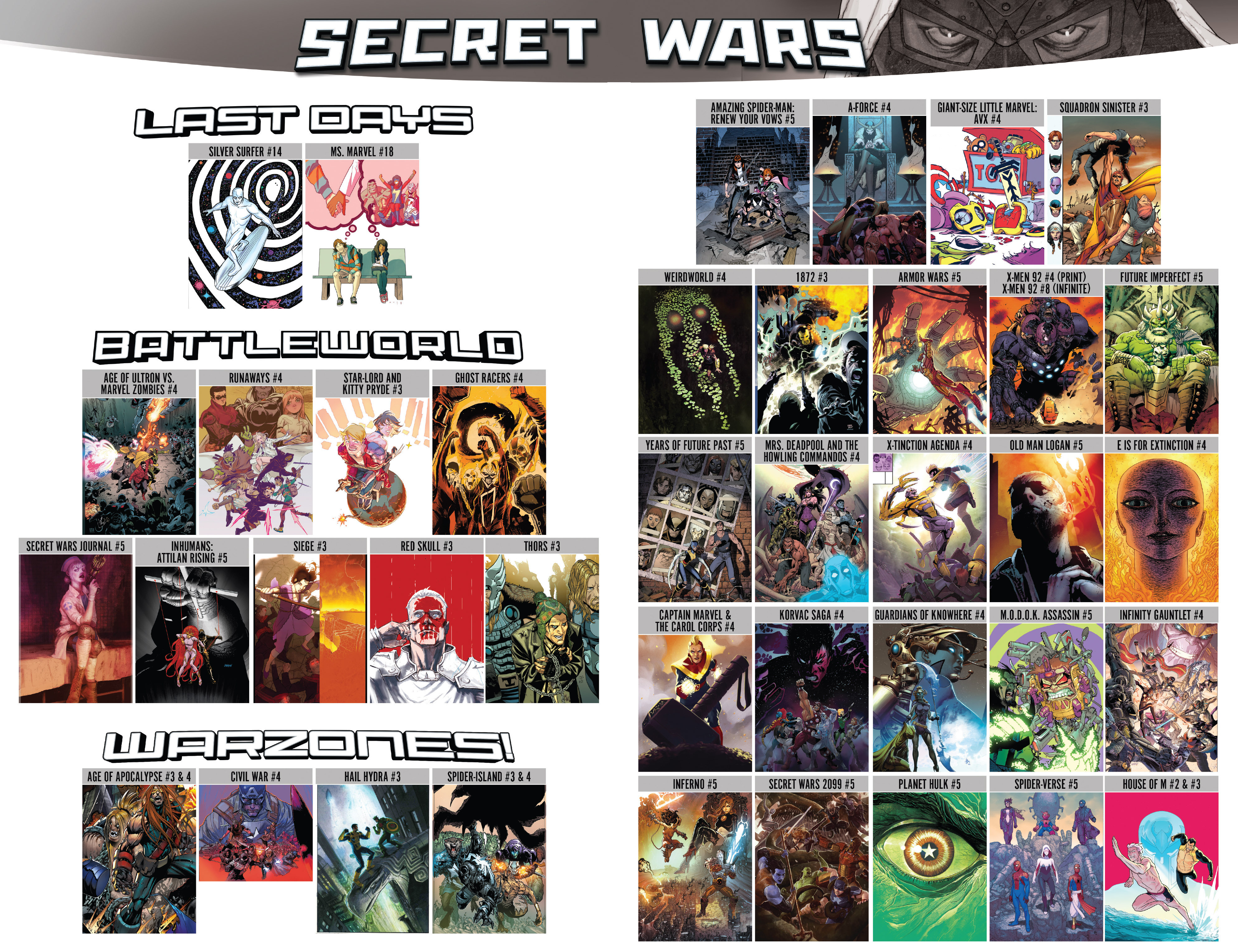 Read online Secret Wars comic -  Issue #6 - 30