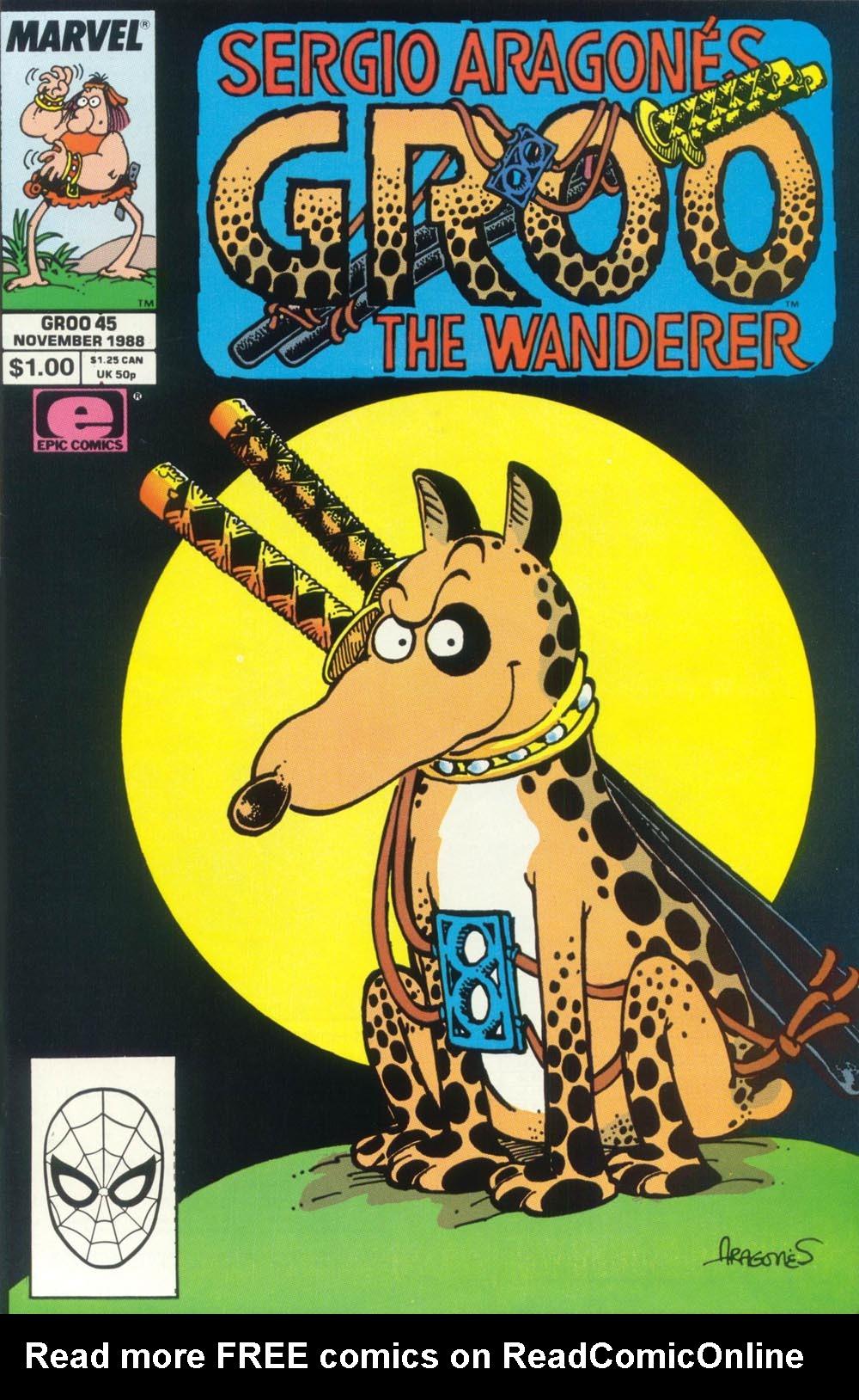 Read online Sergio Aragonés Groo the Wanderer comic -  Issue #45 - 1