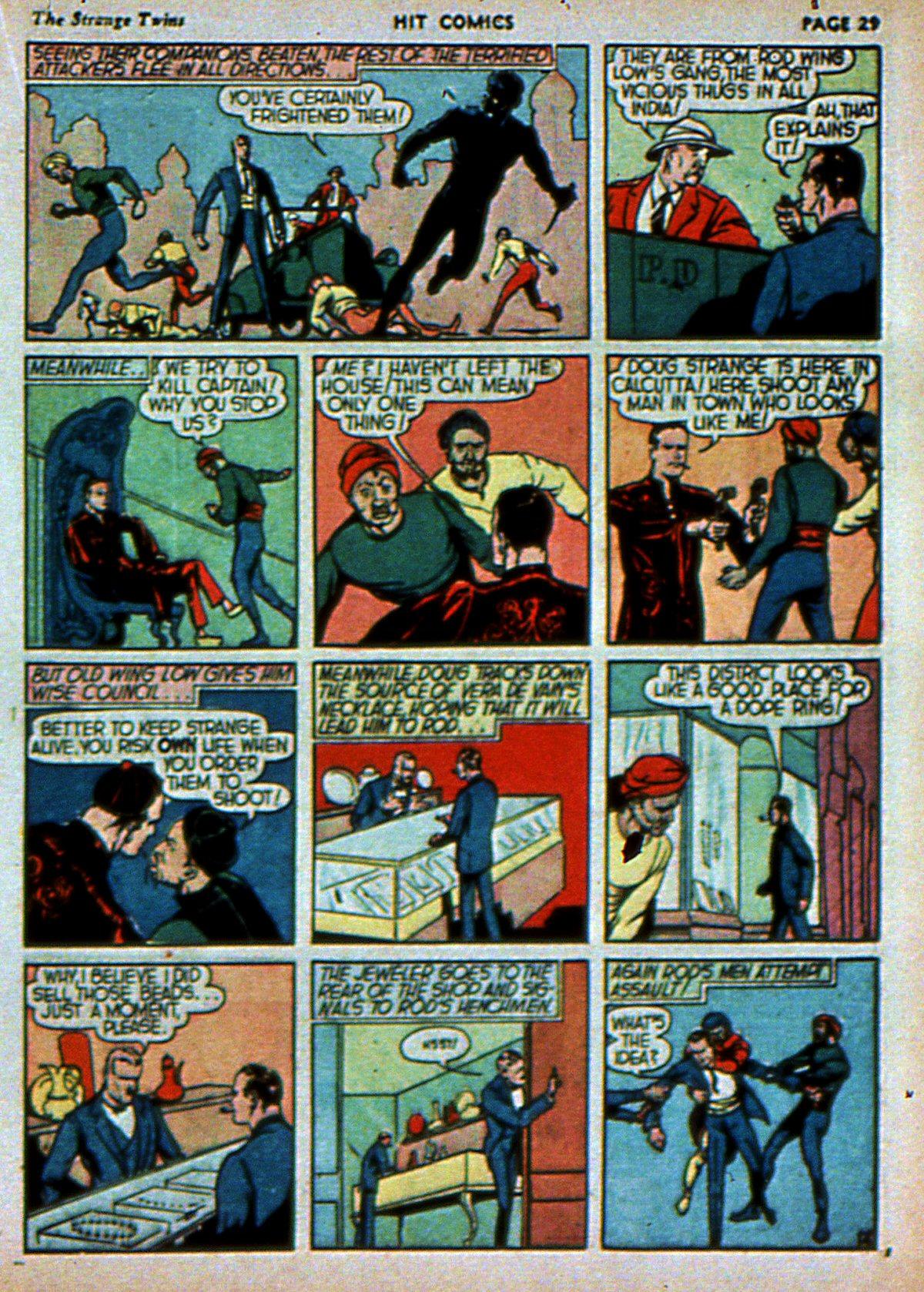 Read online Hit Comics comic -  Issue #3 - 31