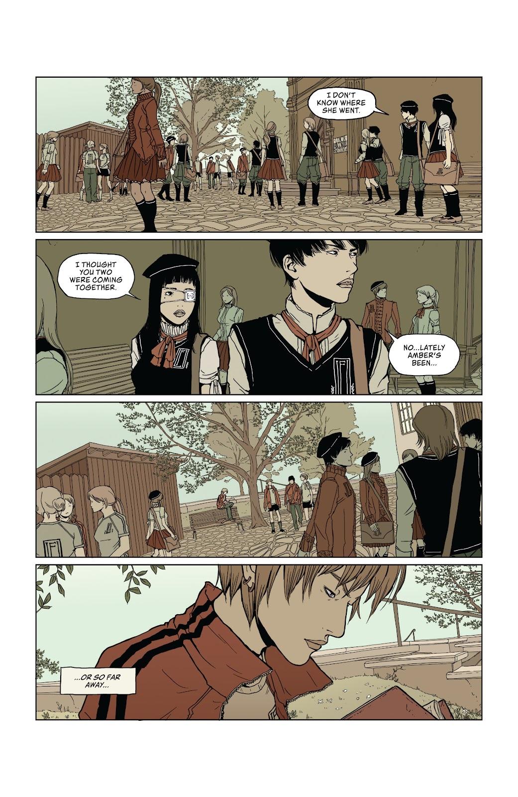 Read online Heartbeat comic -  Issue #1 - 10