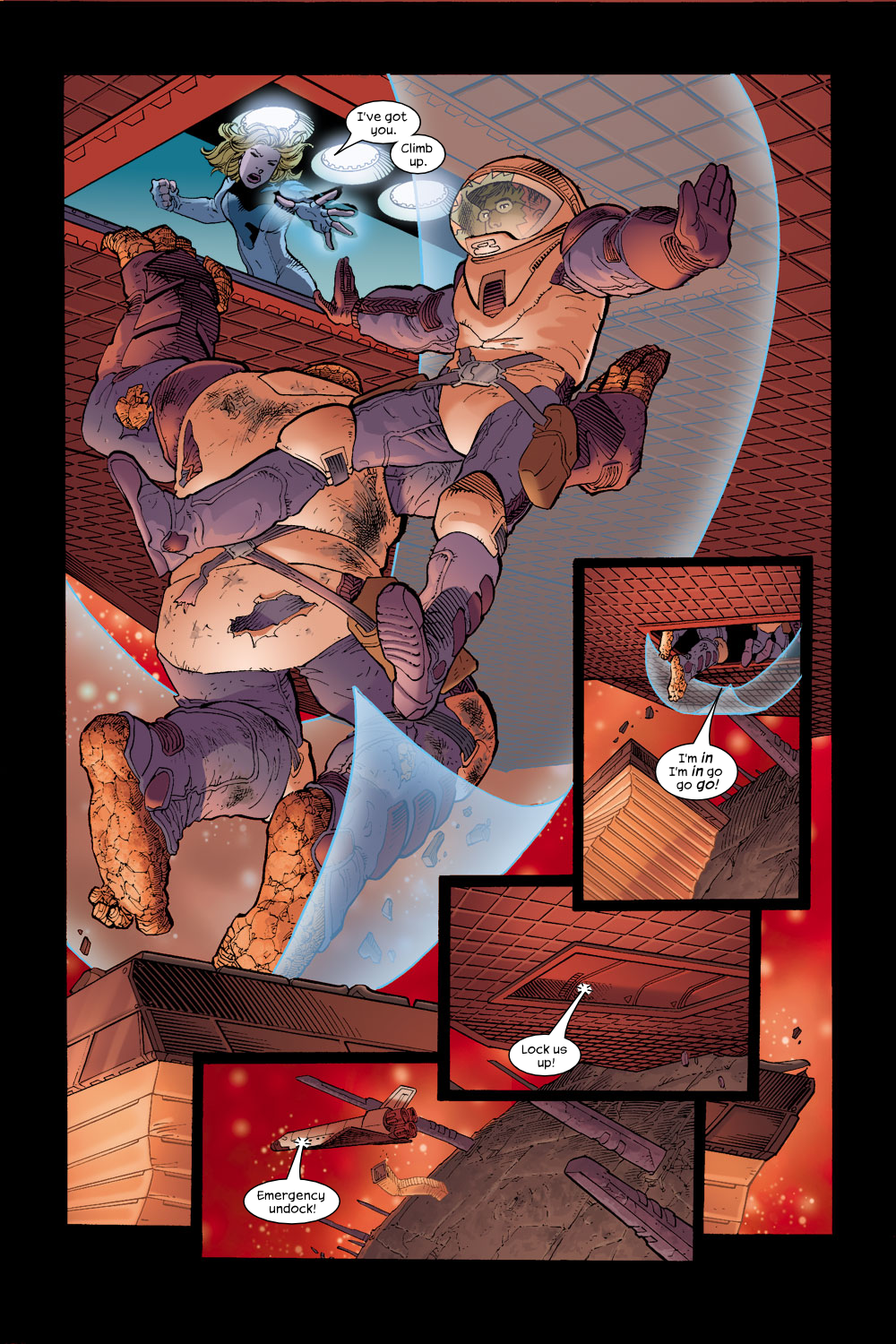 Read online Ultimate Fantastic Four (2004) comic -  Issue #17 - 17