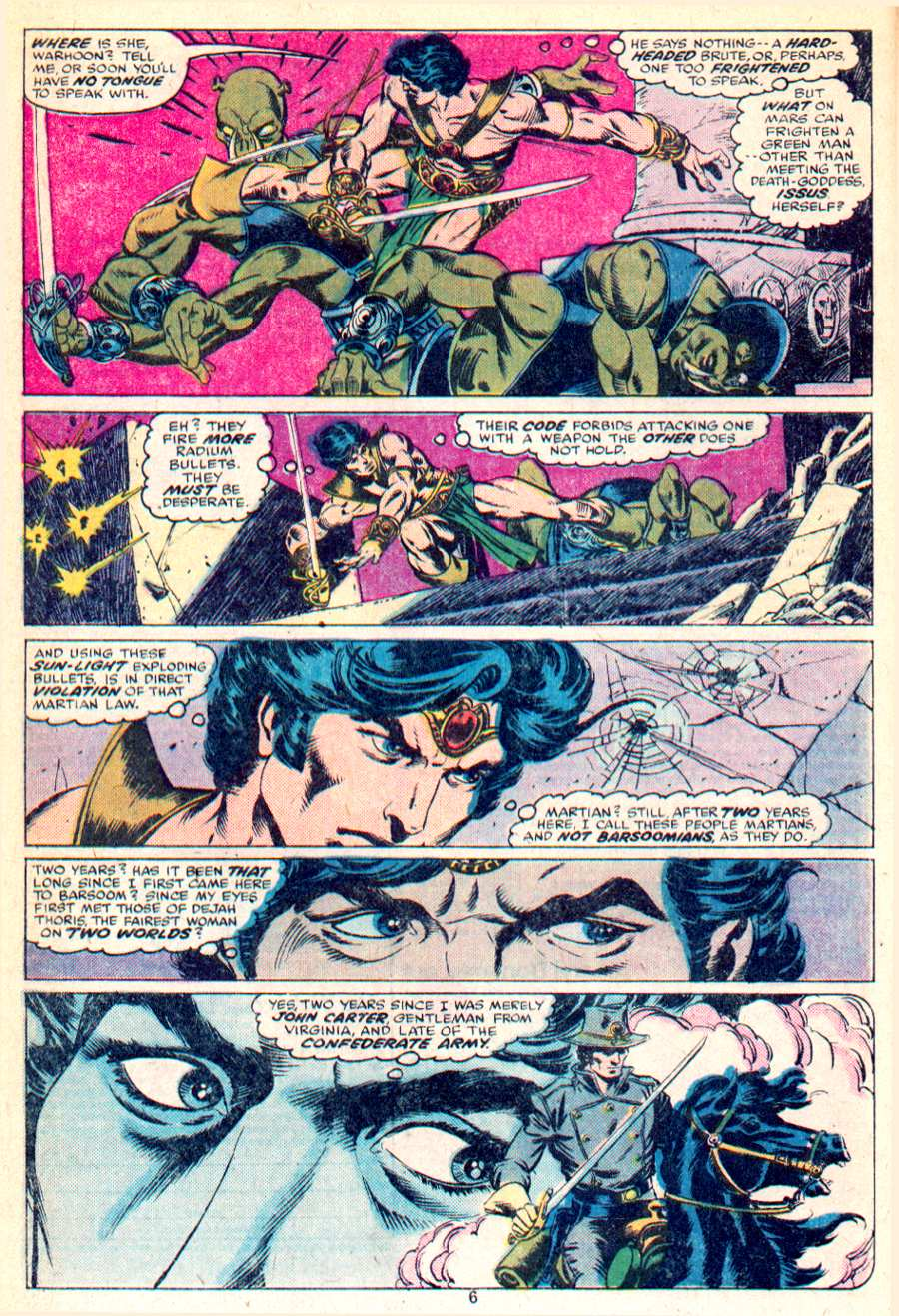 John Carter Warlord of Mars issue 1 - Page 5