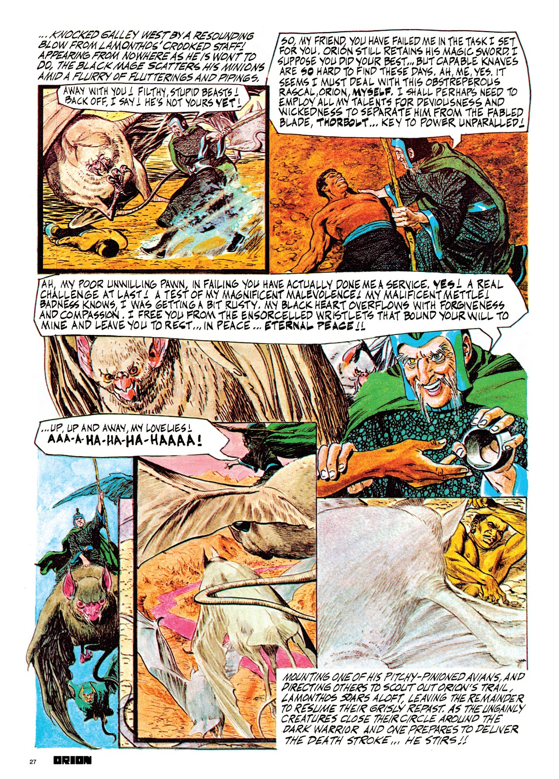 Read online Orion and Edge of Chaos comic -  Issue # TPB - 28