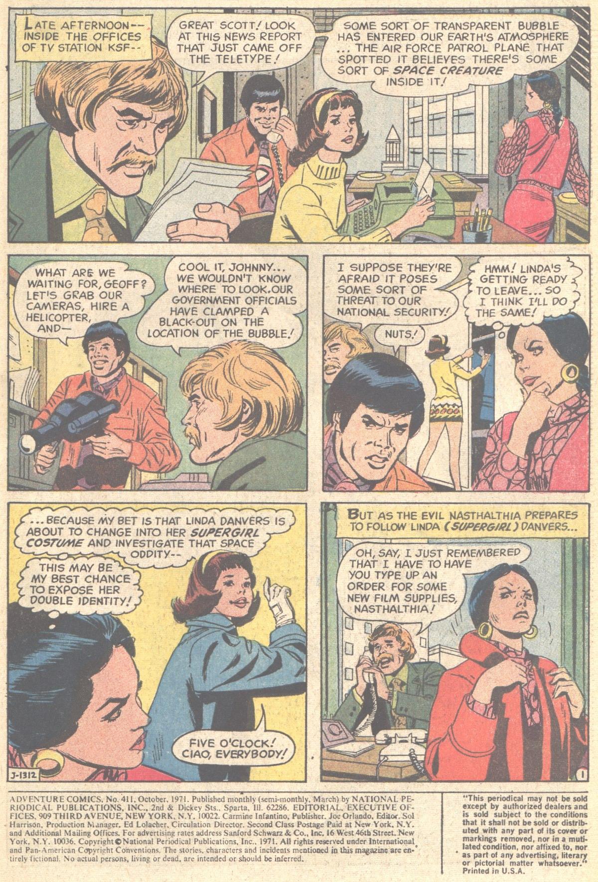 Read online Adventure Comics (1938) comic -  Issue #411 - 3