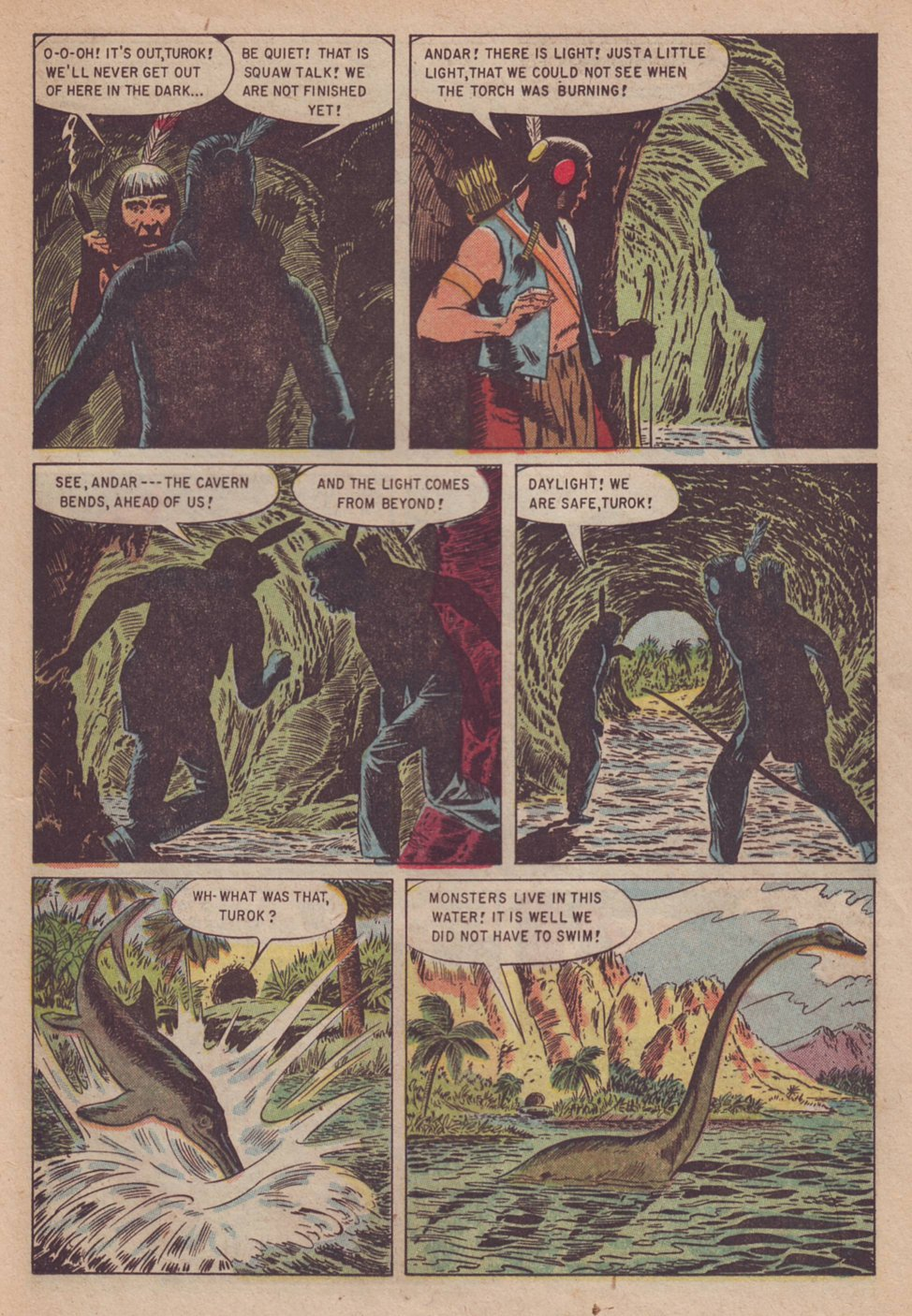 Read online Turok, Son of Stone comic -  Issue #3 - 25