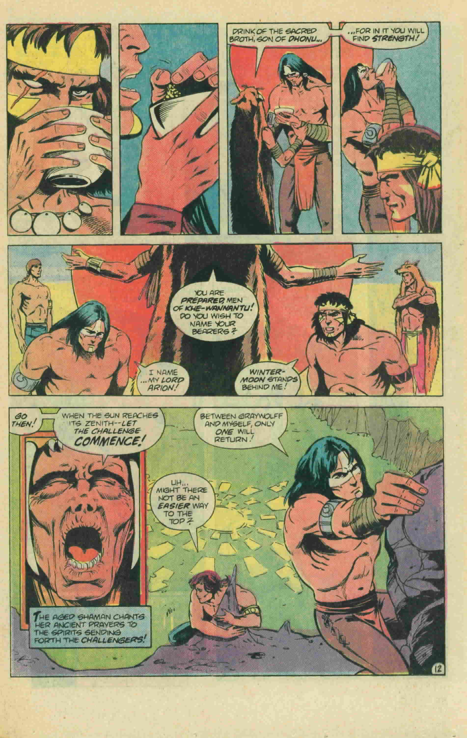 Read online Arion, Lord of Atlantis comic -  Issue #13 - 18