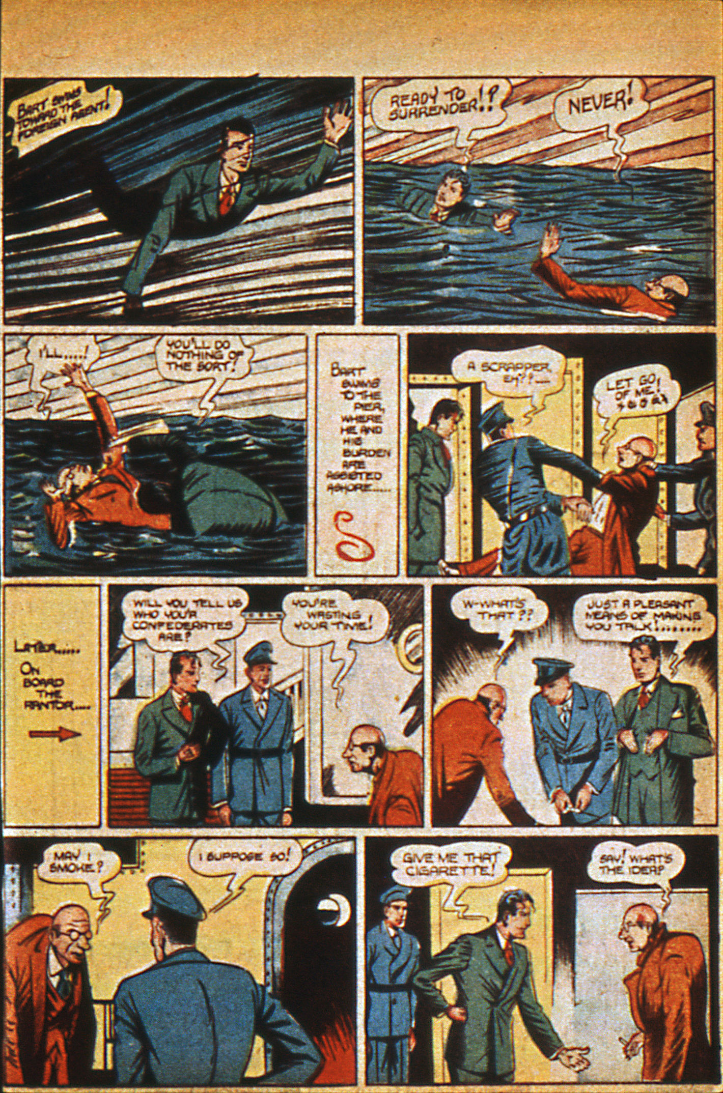 Read online Detective Comics (1937) comic -  Issue #36 - 21