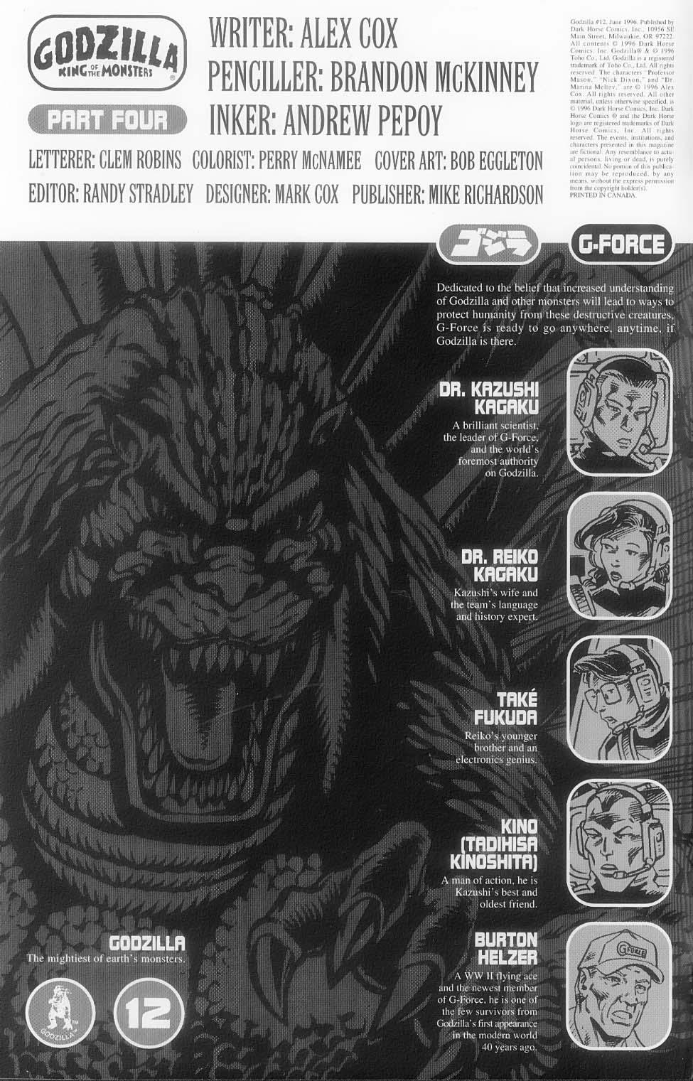 Godzilla (1995) Issue #12 #13 - English 3