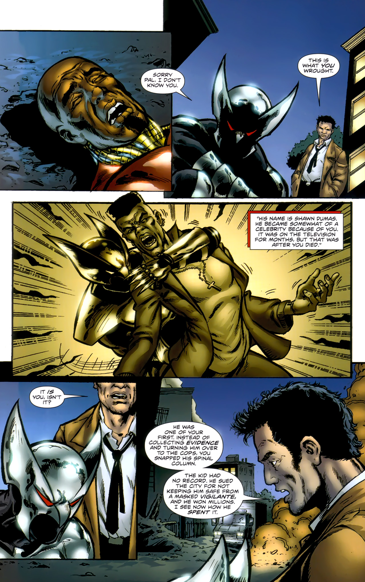 Read online ShadowHawk (2010) comic -  Issue #1 - 20