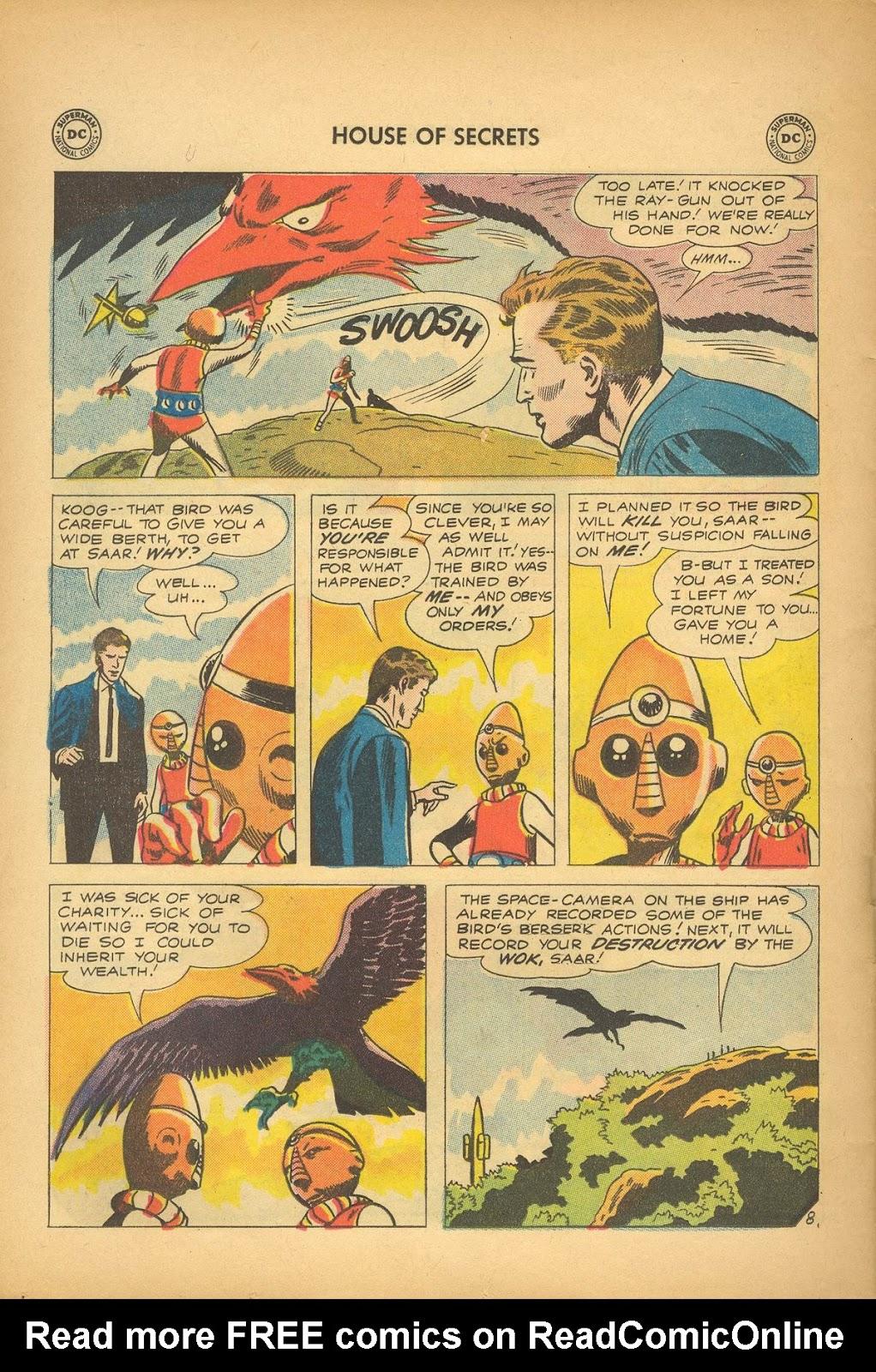 Comic House of Secrets (1956) issue 39