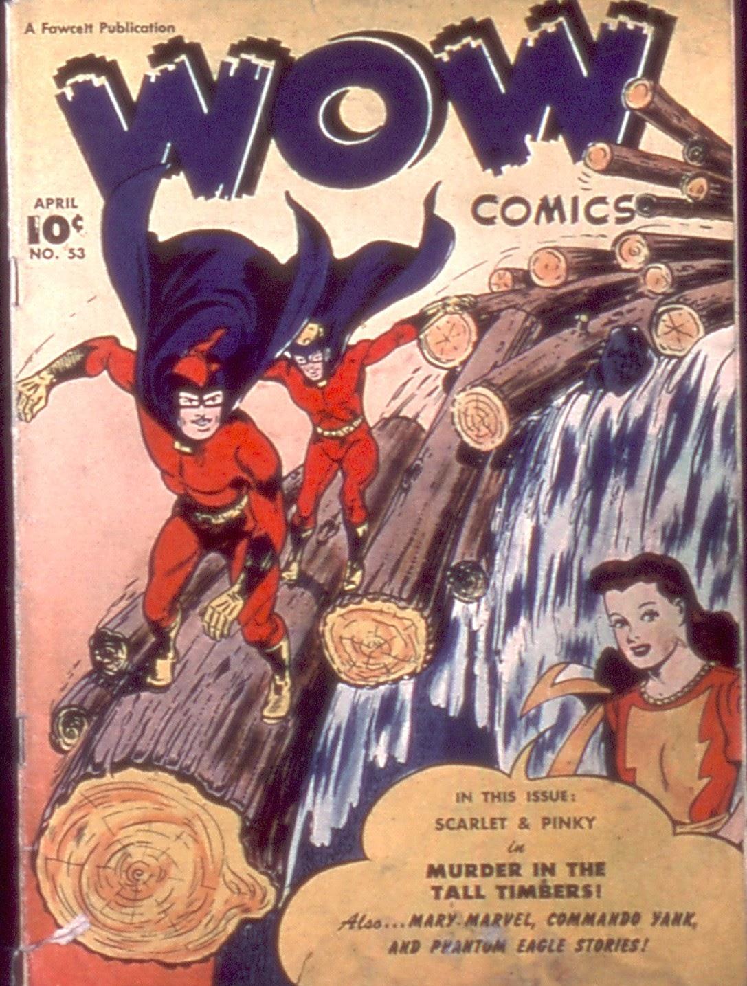 Wow Comics 53 Page 1