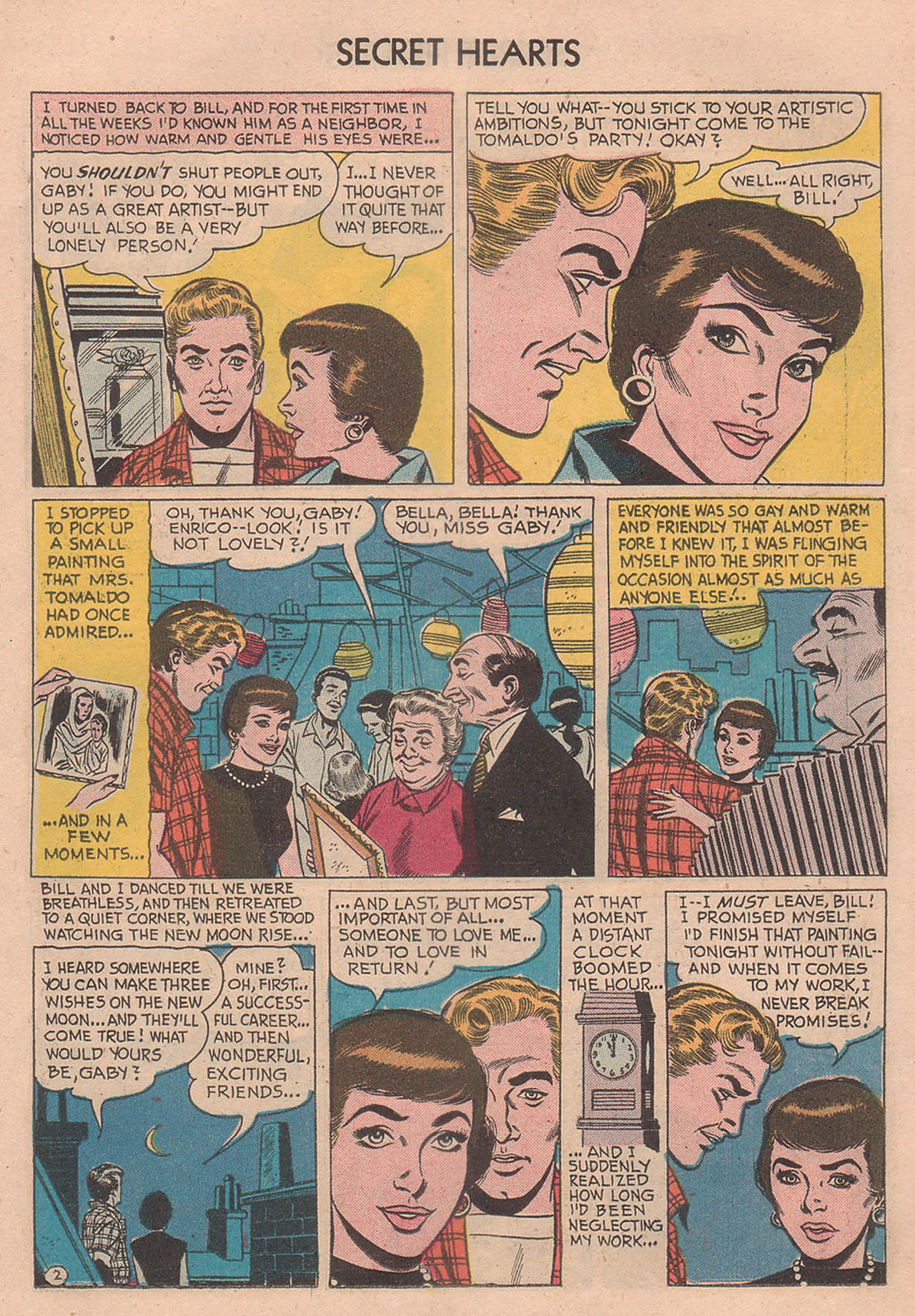 Read online Secret Hearts comic -  Issue #39 - 11