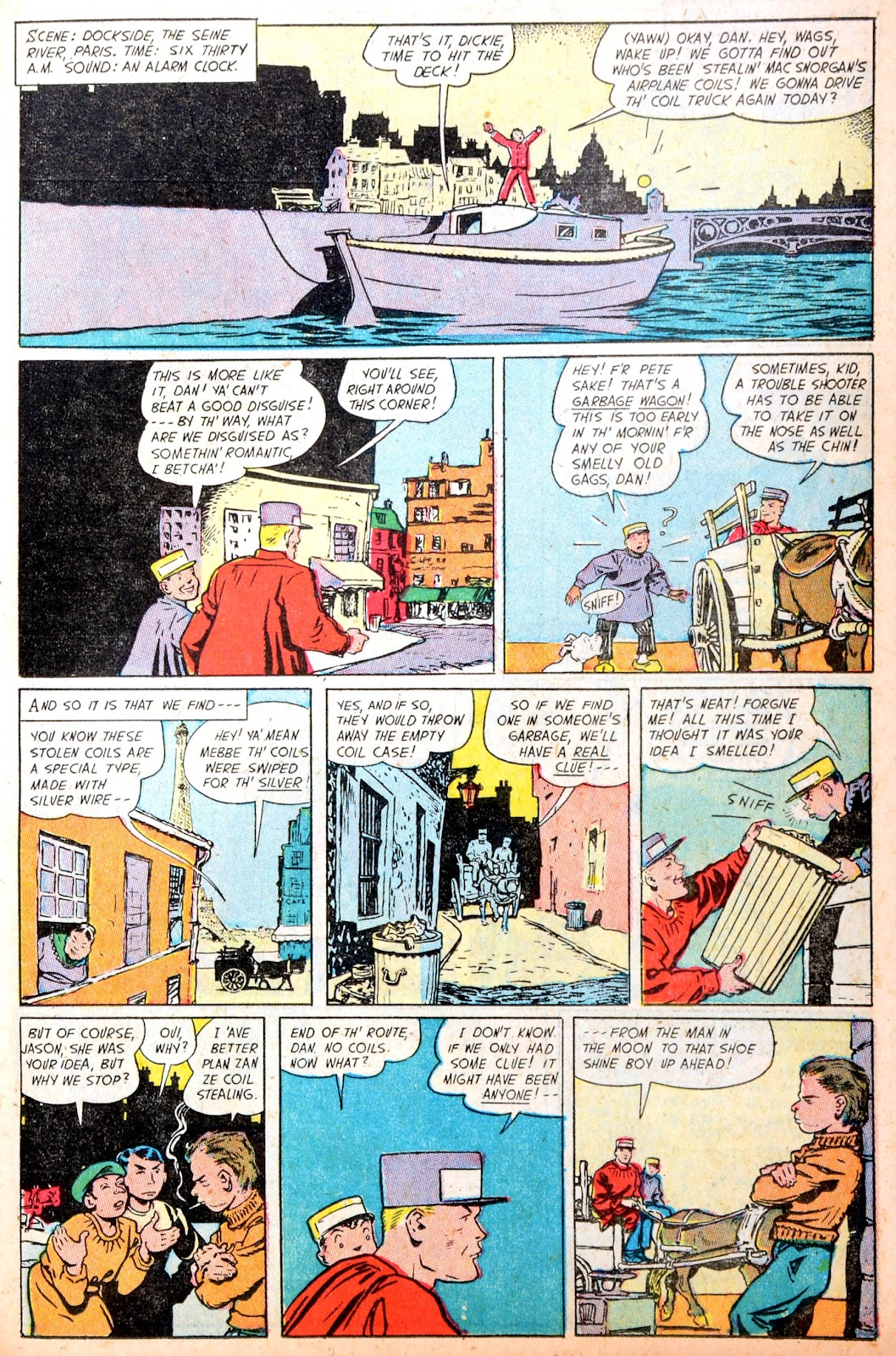 Read online Famous Funnies comic -  Issue #195 - 31