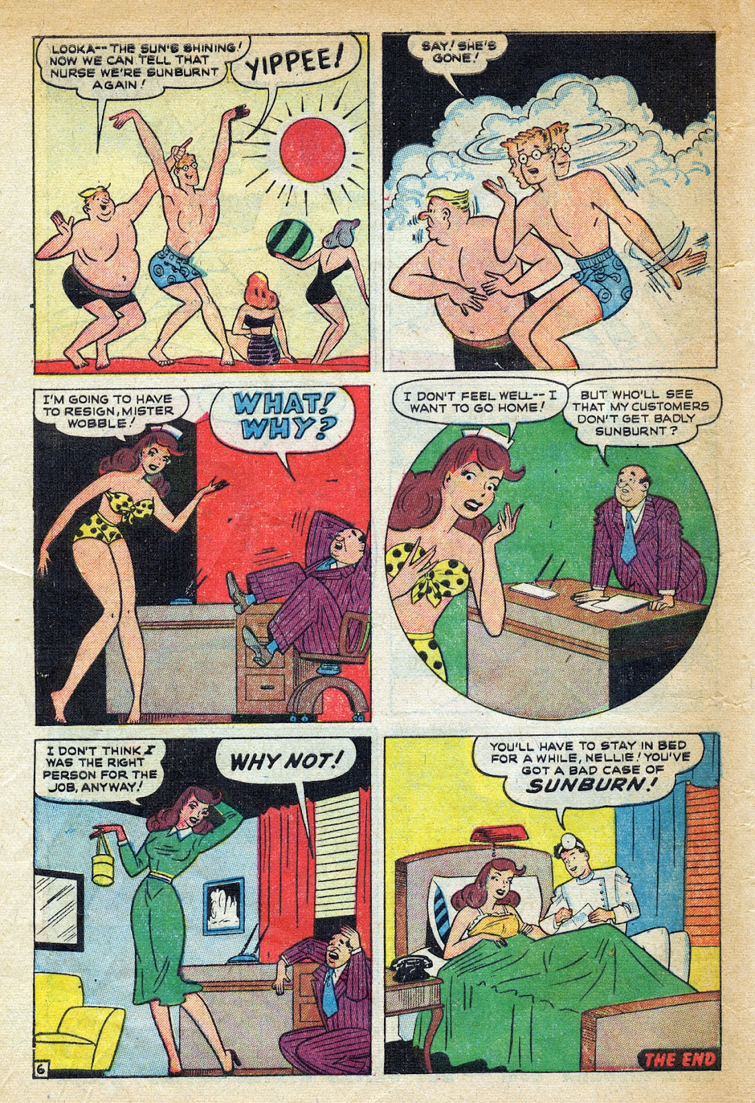 Read online Nellie The Nurse (1945) comic -  Issue #20 - 48