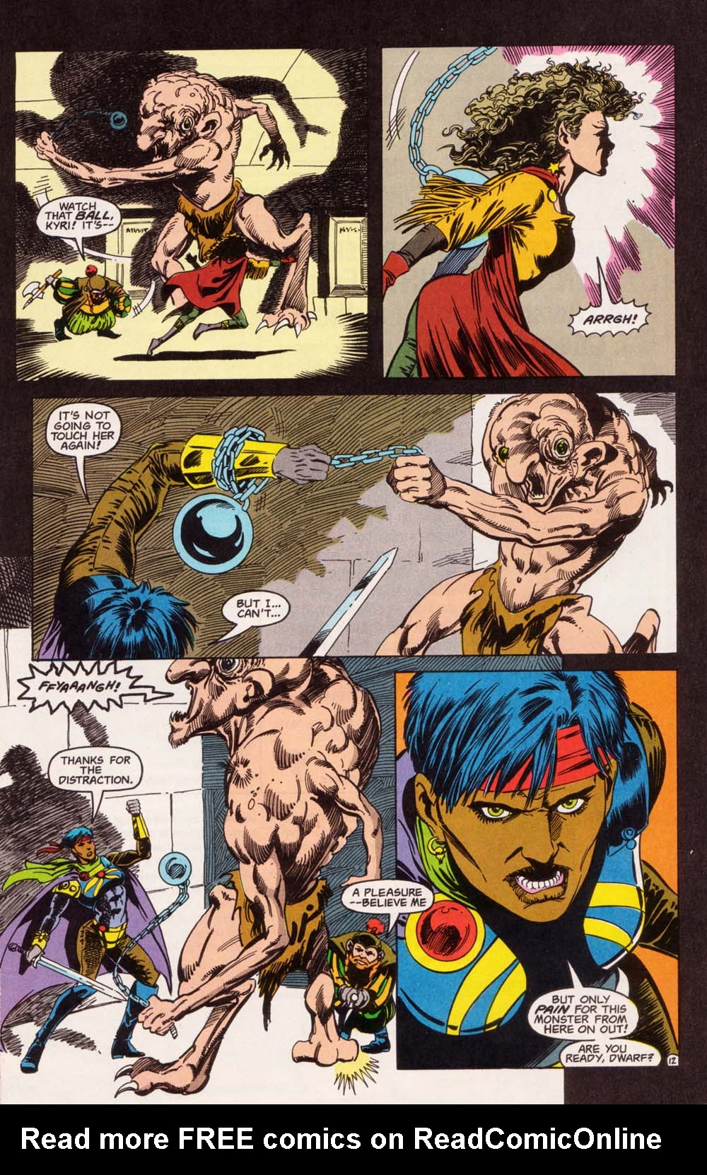 Read online Advanced Dungeons & Dragons comic -  Issue #5 - 13