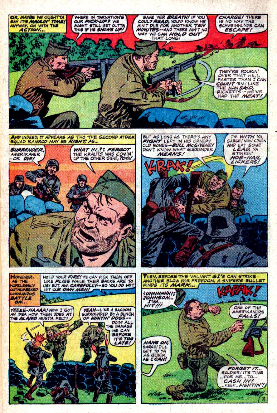 Read online Sgt. Fury comic -  Issue #46 - 4