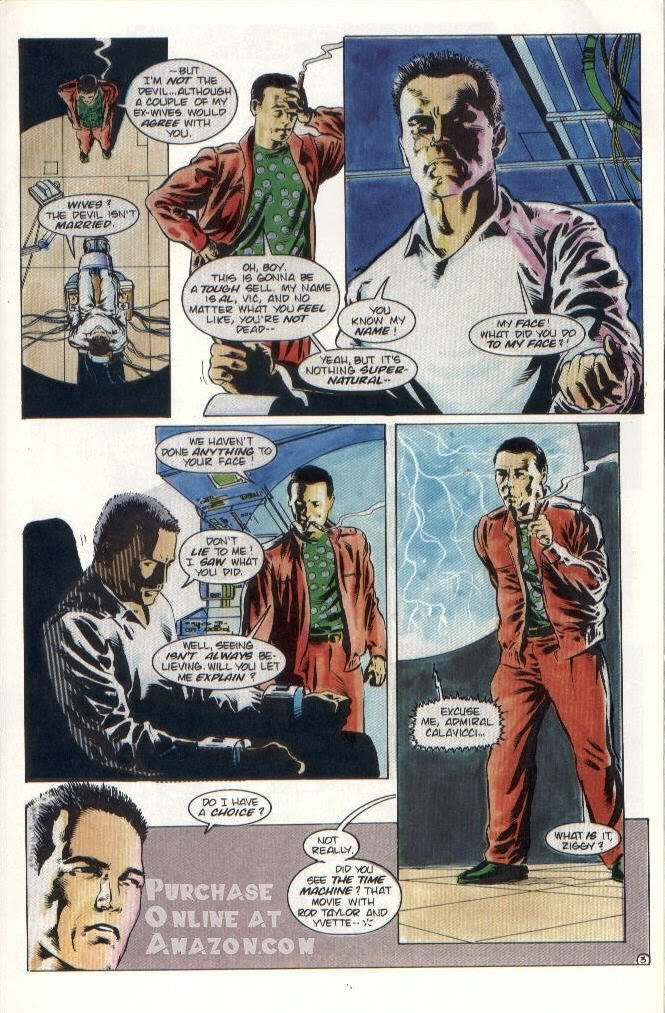 Read online Quantum Leap comic -  Issue #8 - 4