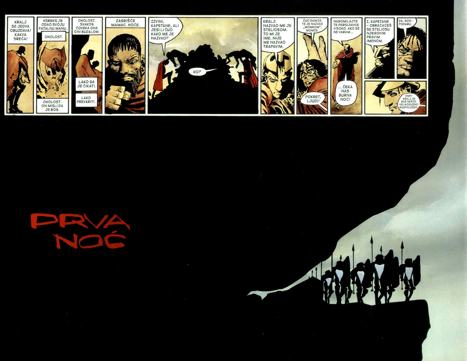 Read online 300 (2007) comic -  Issue # TPB - 57