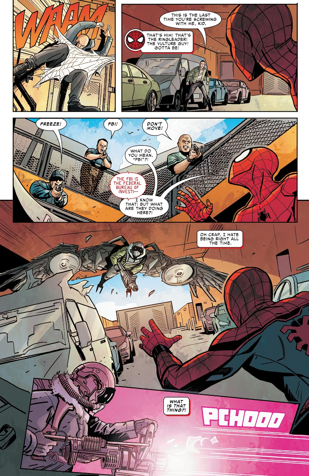 Read online Spider-Man: Far From Home Prelude comic -  Issue #2 - 8