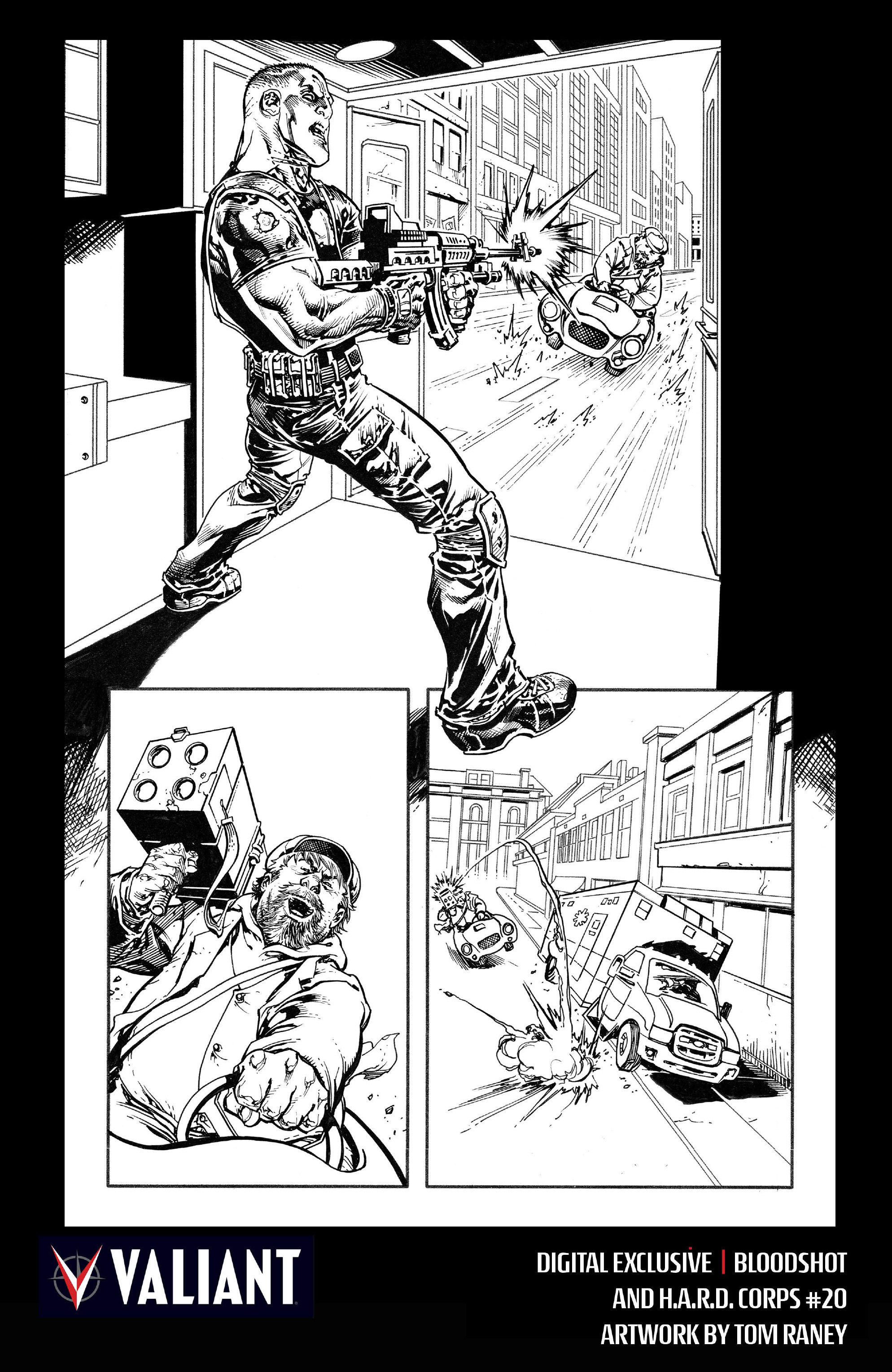 Read online Bloodshot and H.A.R.D.Corps comic -  Issue #20 - 29