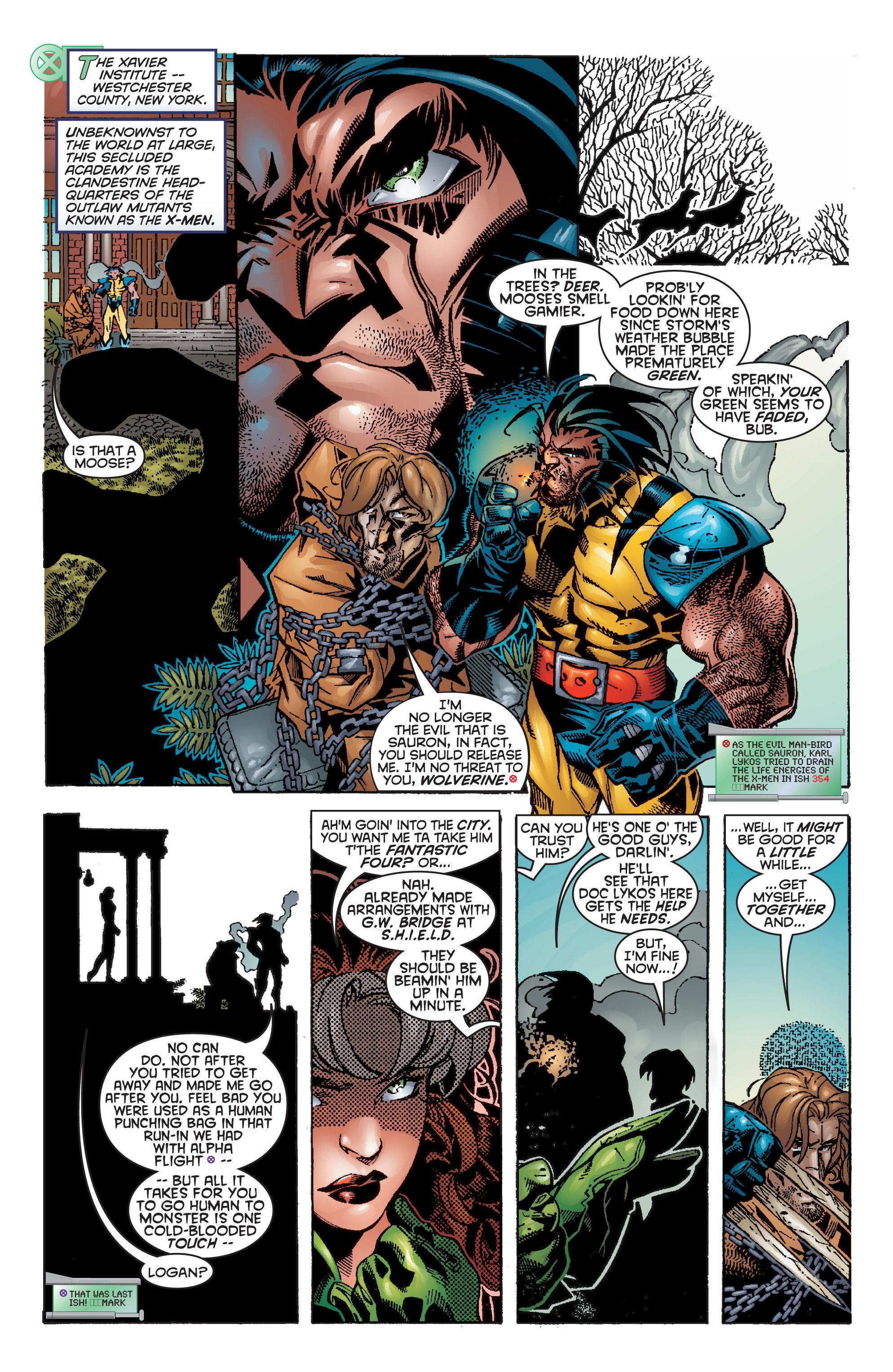 Read online Uncanny X-Men (1963) comic -  Issue #356 - 8