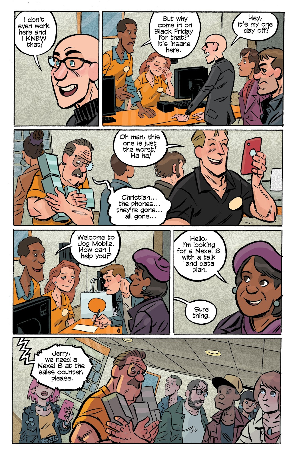 Read online Cellies comic -  Issue #6 - 14