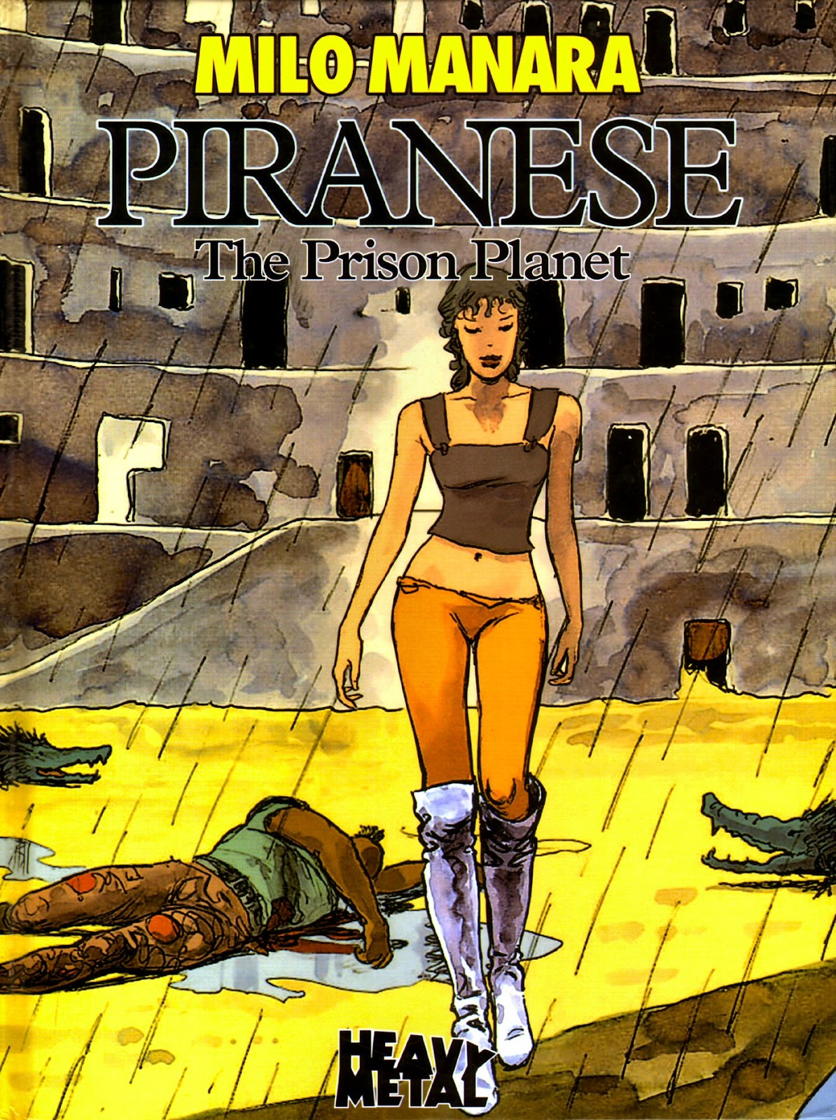 Read online Piranese The Prison Planet comic -  Issue # Full - 1