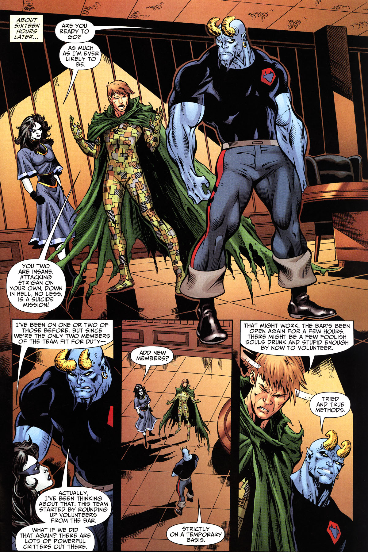 Read online Shadowpact comic -  Issue #10 - 20