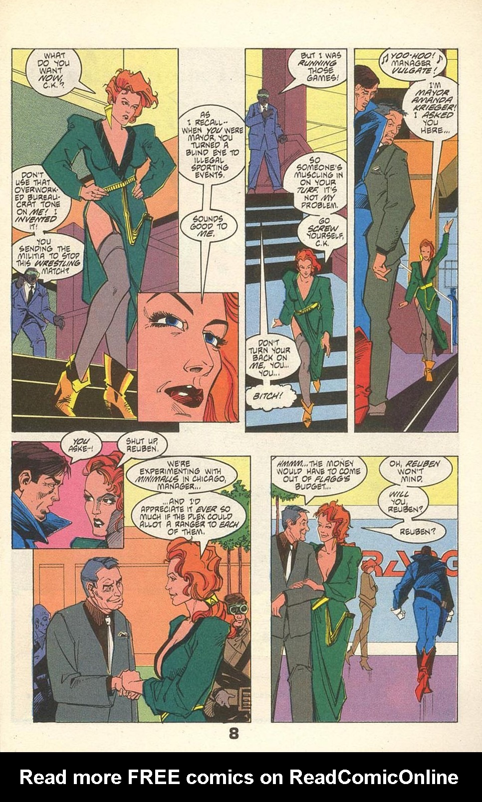 Read online American Flagg! comic -  Issue #31 - 11
