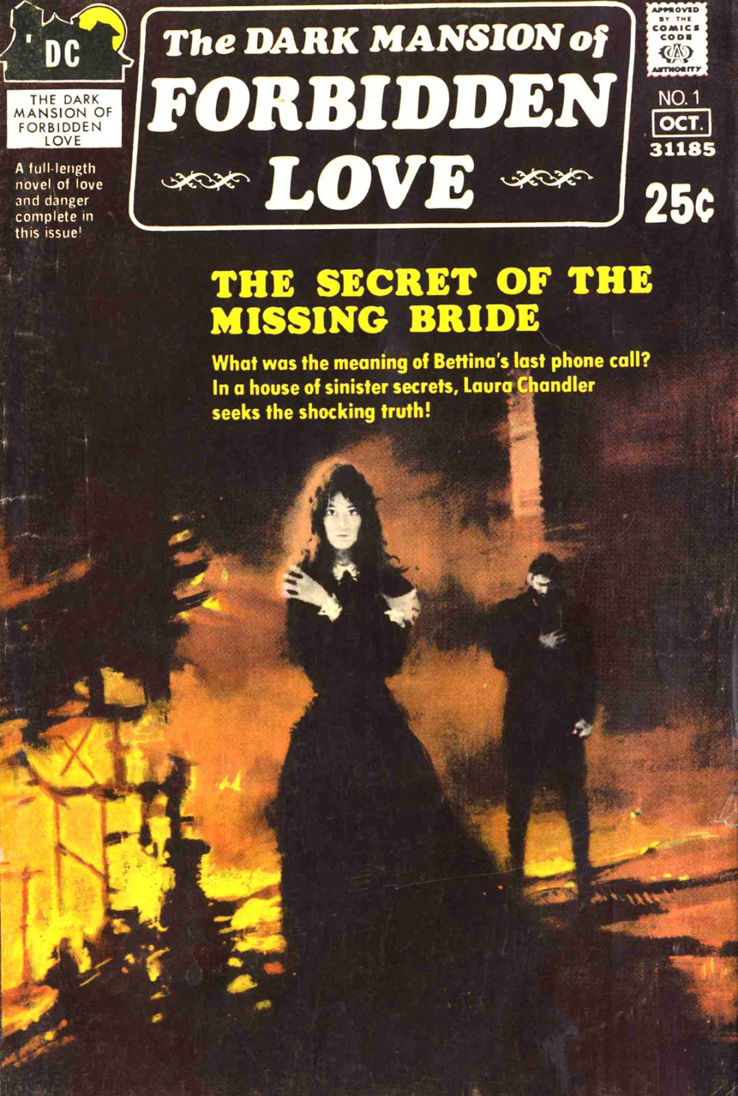 The Dark Mansion of Forbidden Love issue 1 - Page 1