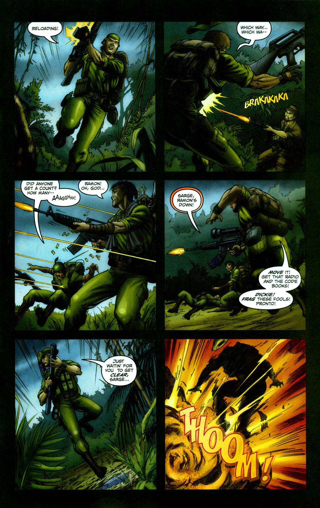 Read online Snake Eyes: Declassified comic -  Issue #1 - 18