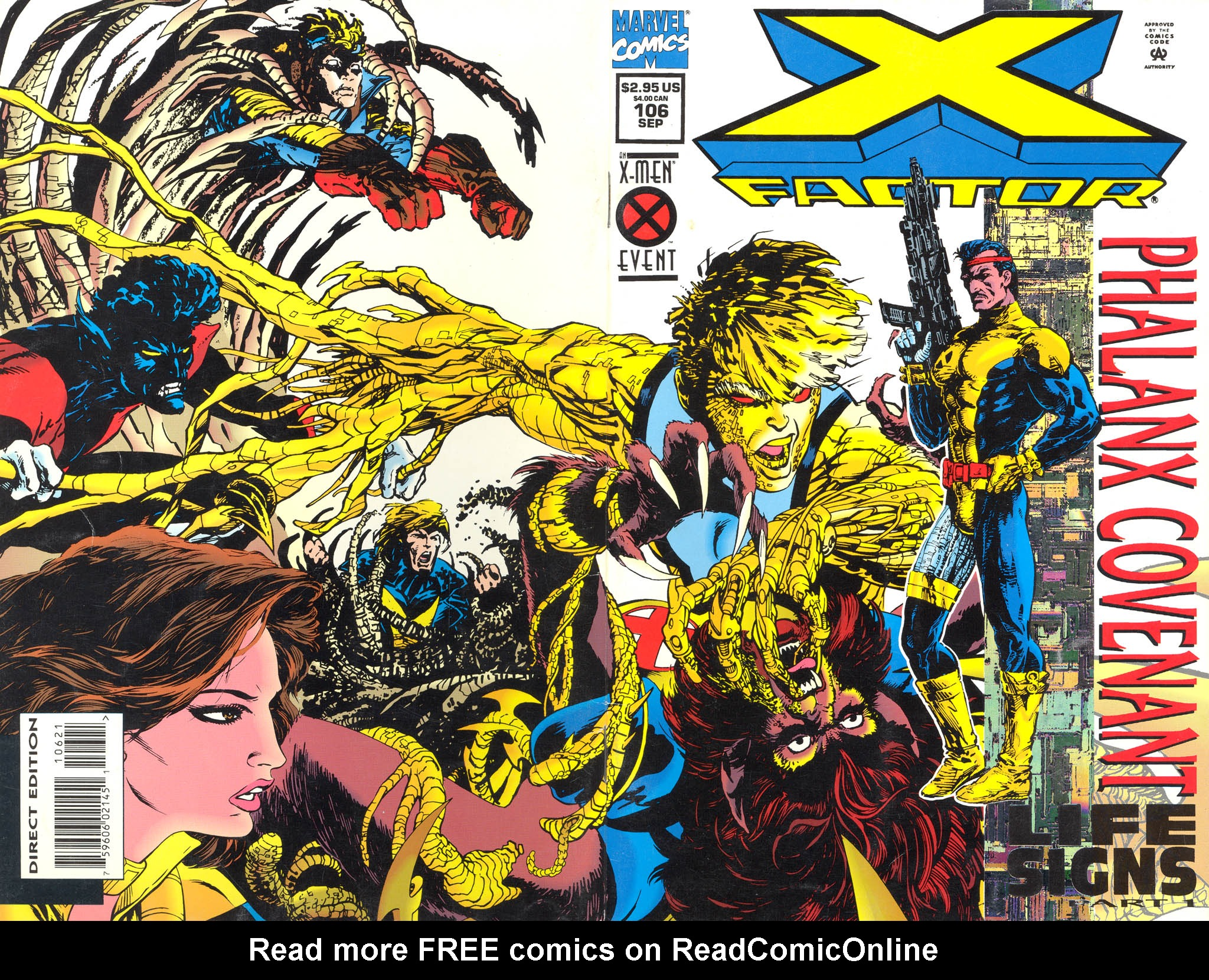 Read online X-Factor (1986) comic -  Issue #106 - 1