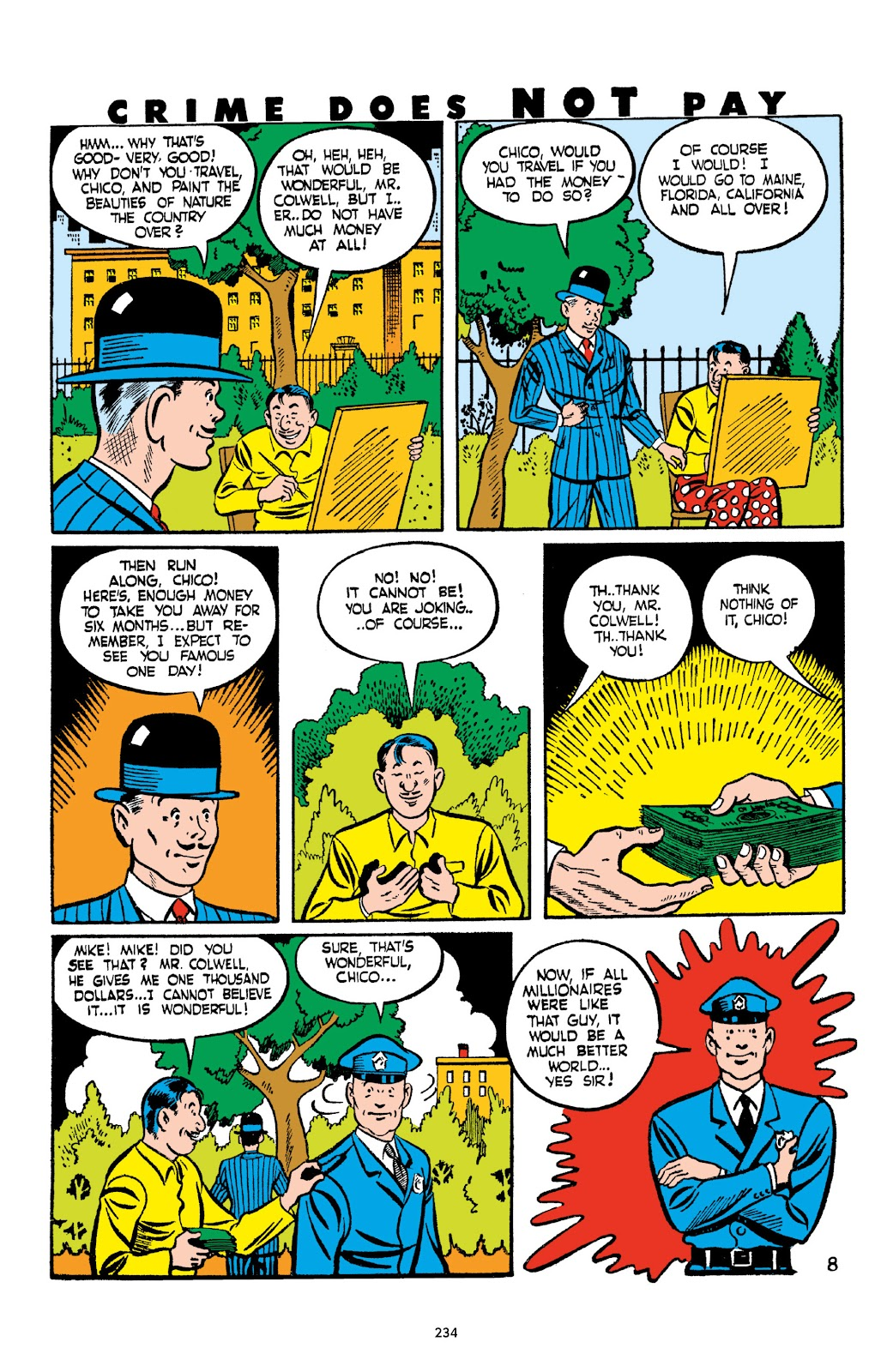 Read online Crime Does Not Pay Archives comic -  Issue # TPB 2 (Part 3) - 34
