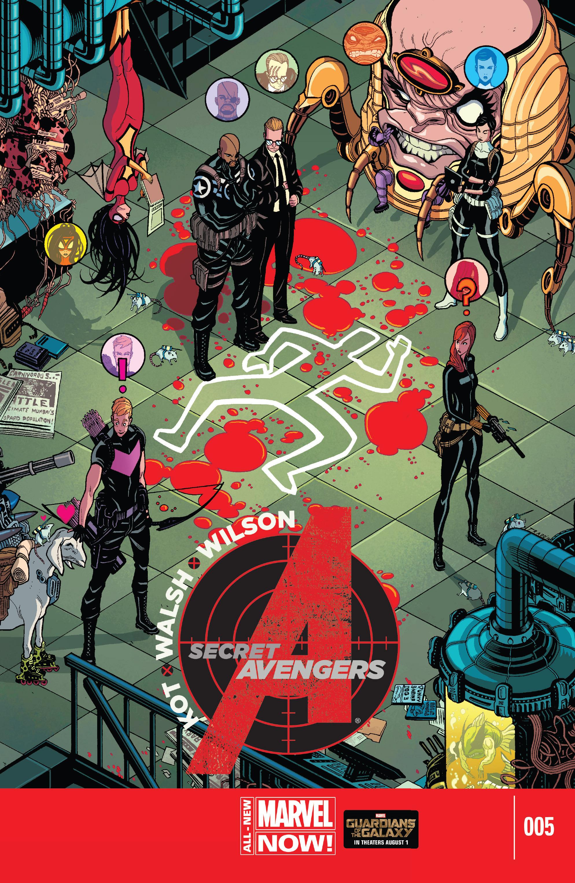 Read online Secret Avengers (2014) comic -  Issue #5 - 1