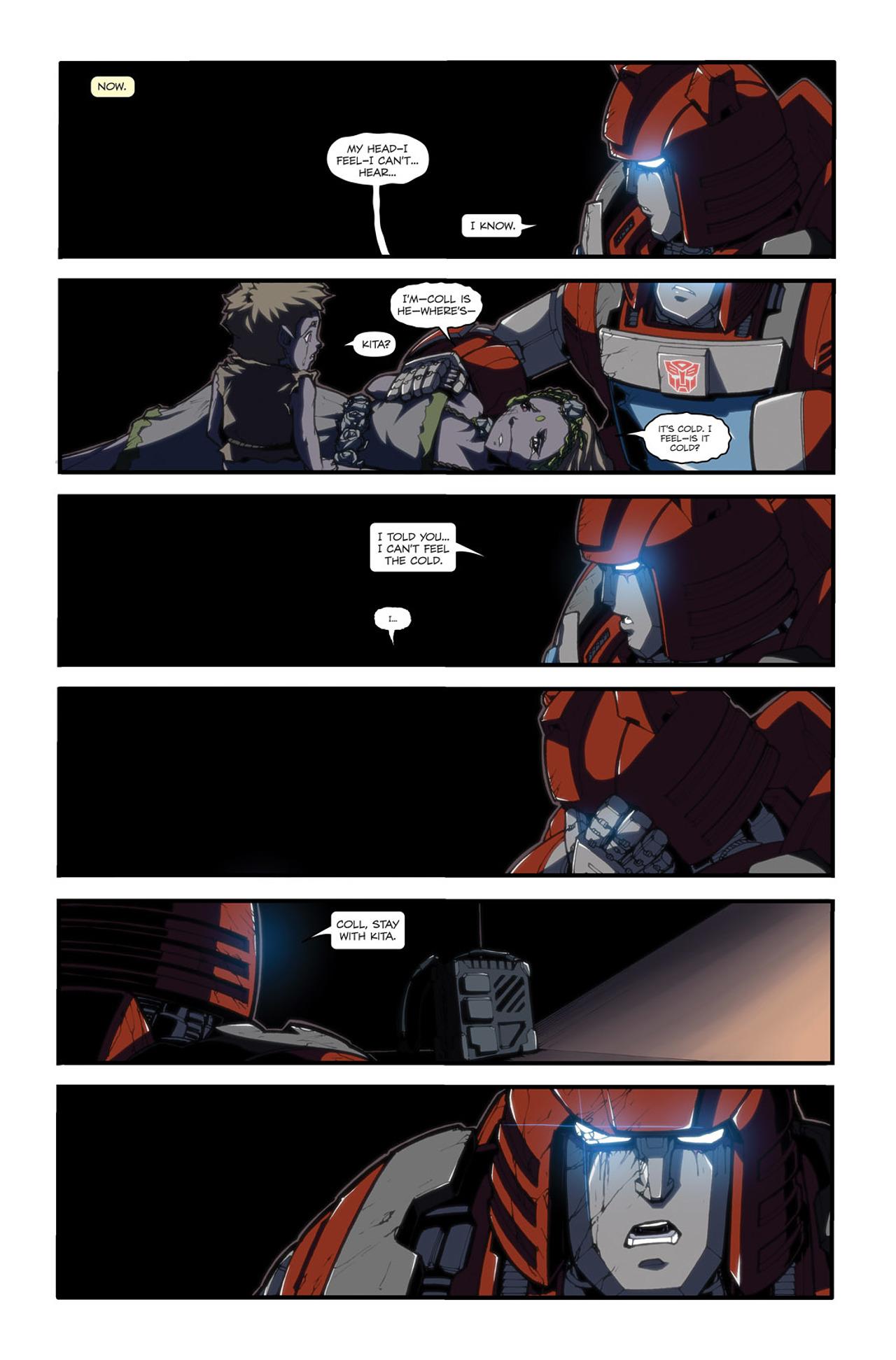 Read online Transformers Spotlight: Cliffjumper comic -  Issue # Full - 23