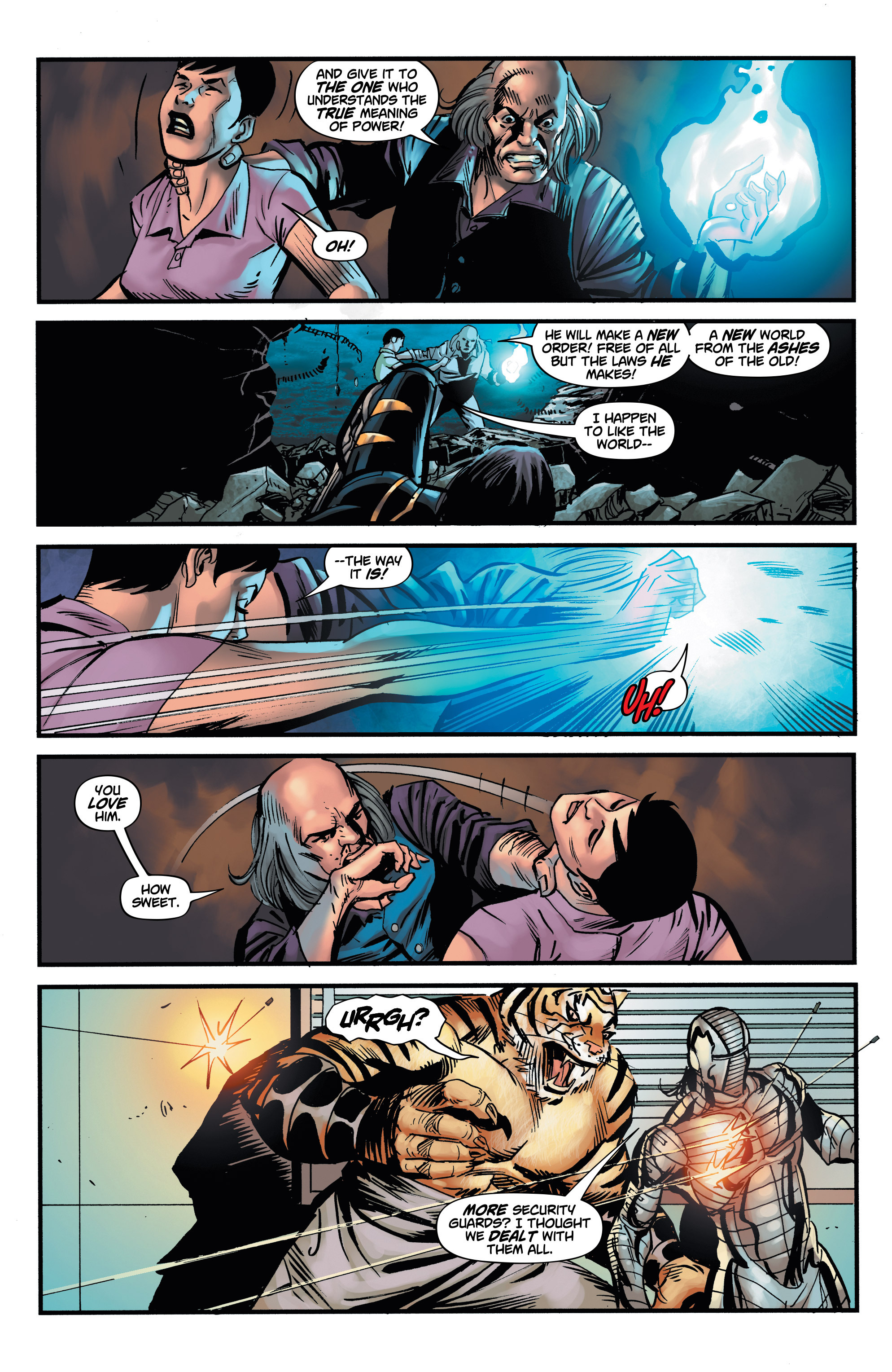 Read online Shadow Tiger comic -  Issue #4 - 6