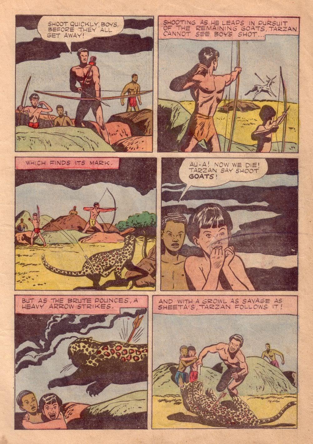 Tarzan (1948) issue 8 - Page 5
